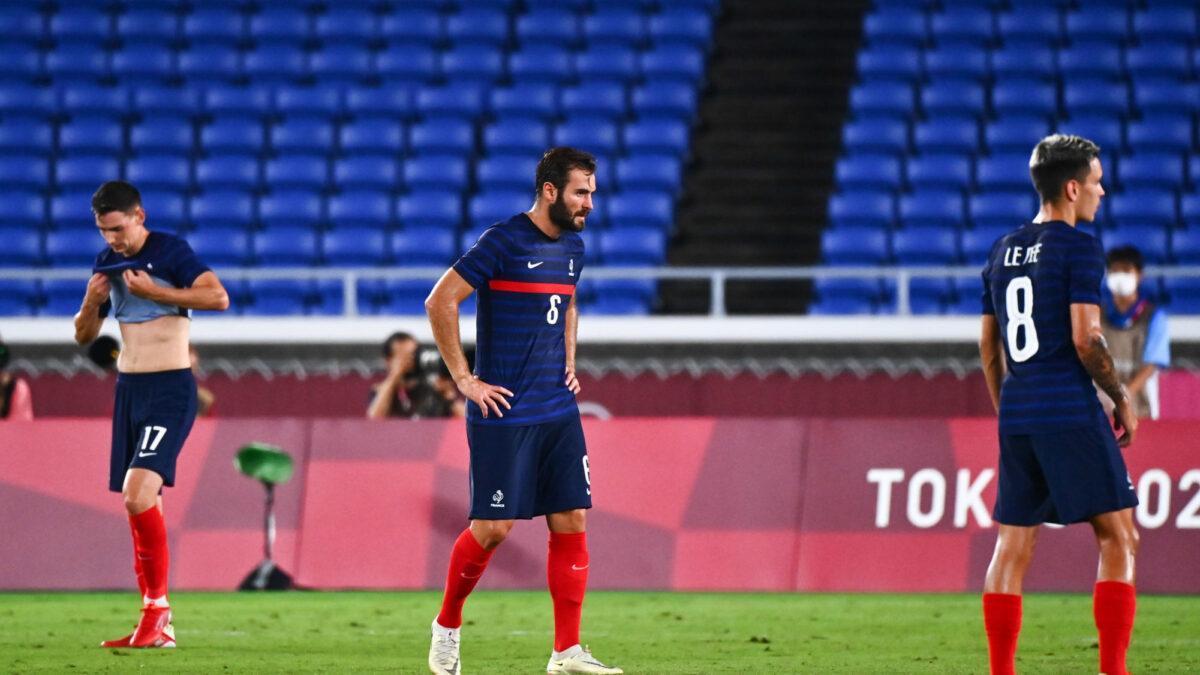 Fessés par le Japon (0-4), les Bleus disent au revoir aux JO. Icon Sport