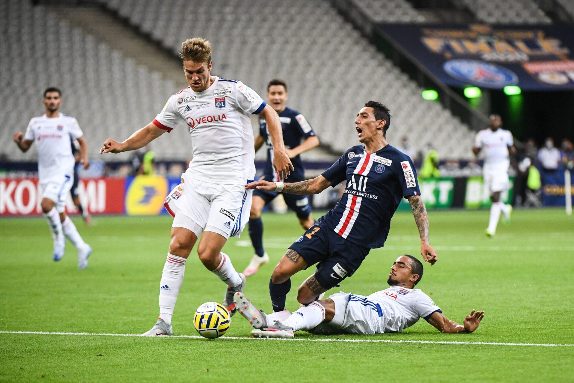 Entre 2019 et 2021, Joachim Andersen aura porté le maillot de Lyon à 35 reprises sous la direction de Sylvinho et Rudi Garcia (iconsport)