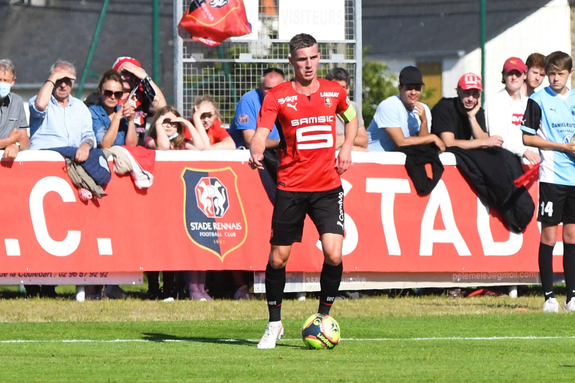 Benjamin Bourigeaud est l'un des joueurs rennais courtisés sur le mercato. Icon Sport