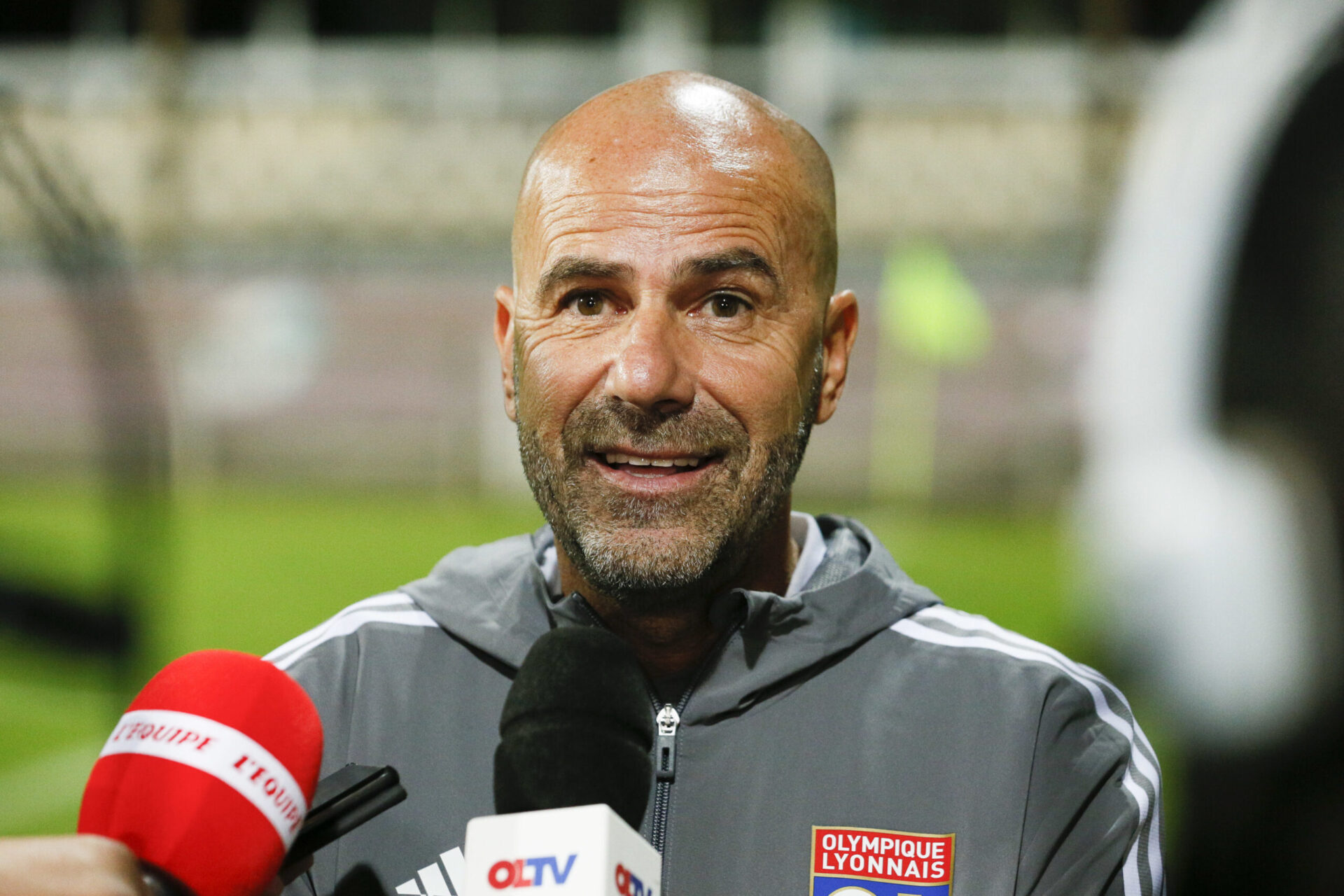 Peter Bosz avec l'Olympique Lyonnais (iconsport)