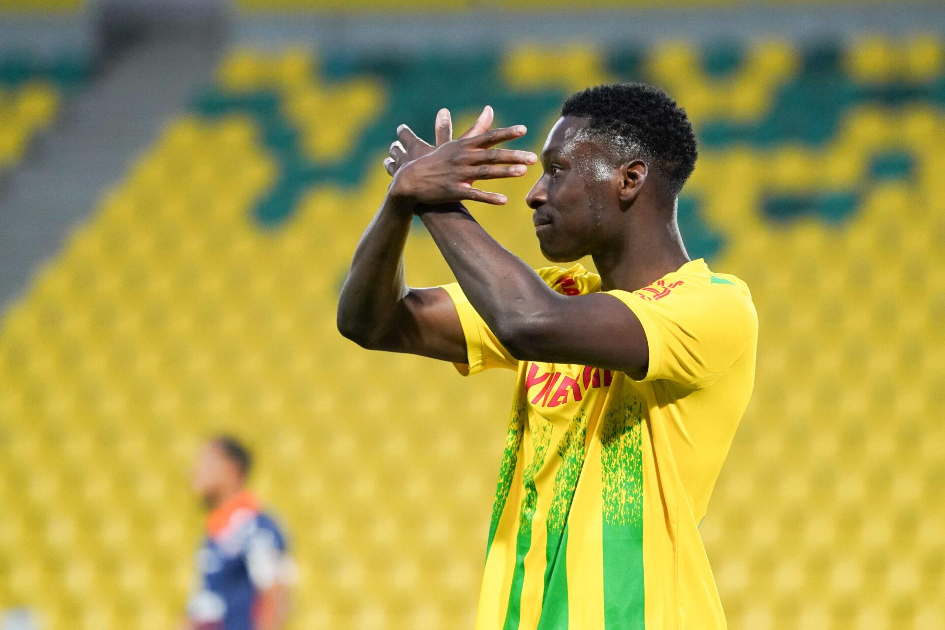 Nantes pourrait perdre Kolo Muani cet été ou le voir partir libre dans un an (iconsport)