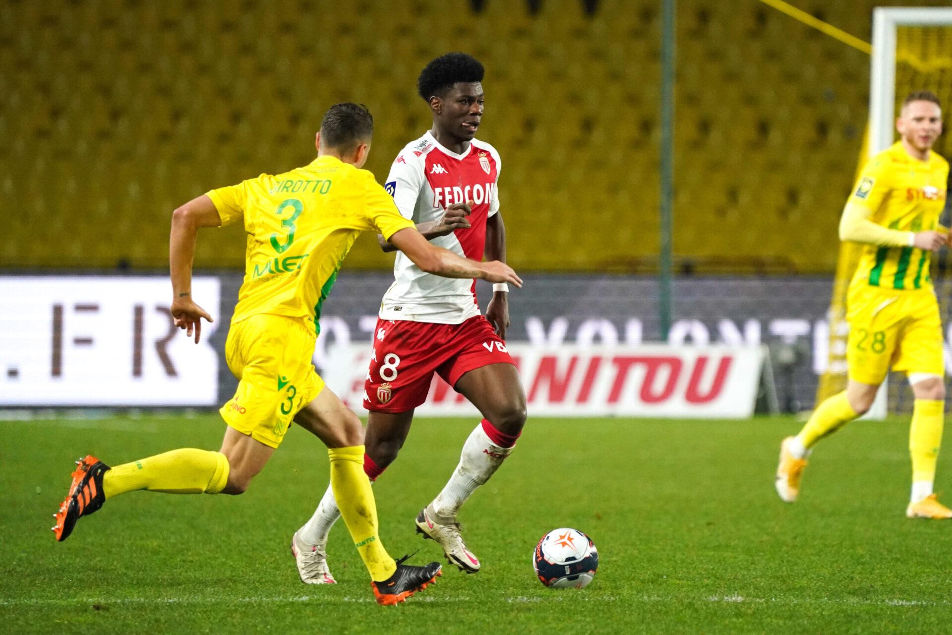 La rencontre entre l'AS Monaco et le FC Nantes pour commencer la saison de Ligue 1 (iconsport)