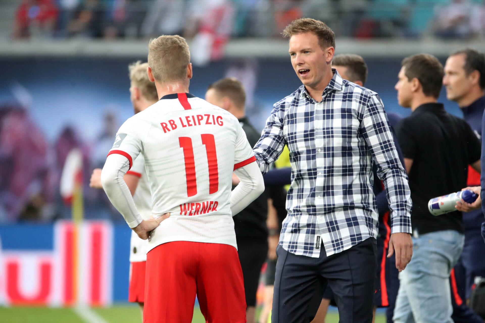 Julian Nagelsman aimerait faire venir Werner à Munich (iconsport)