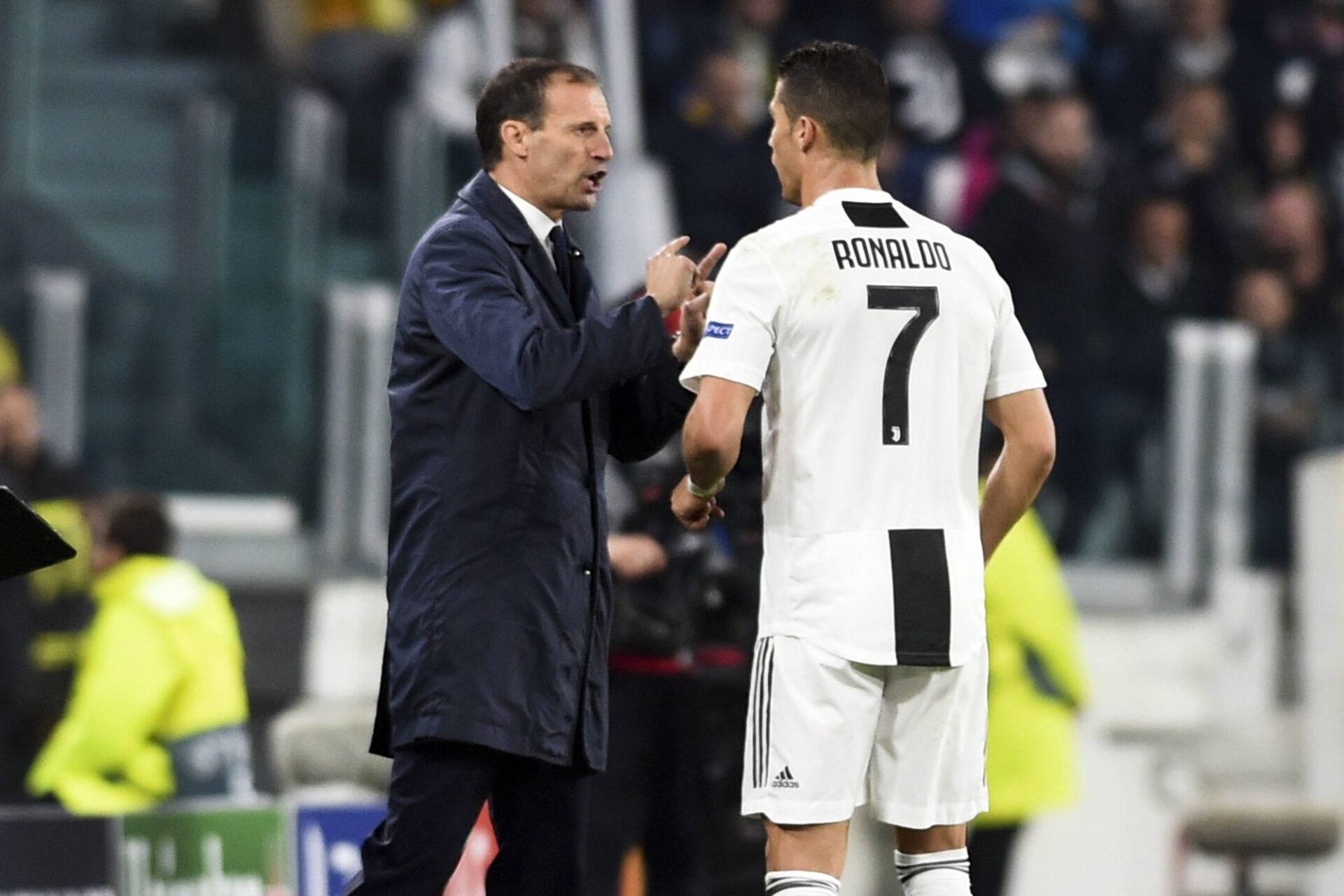 Massimiliano Allegri compte s'appuyer sur les nouvelles responsabilités de Cristiano Ronaldo. Icon Sport