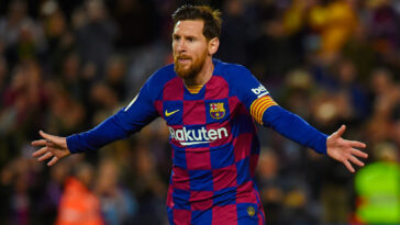 Le Barça aurait trouvé un accord avec Lionel Messi pour un contrat de 5 ans. Icon Sport