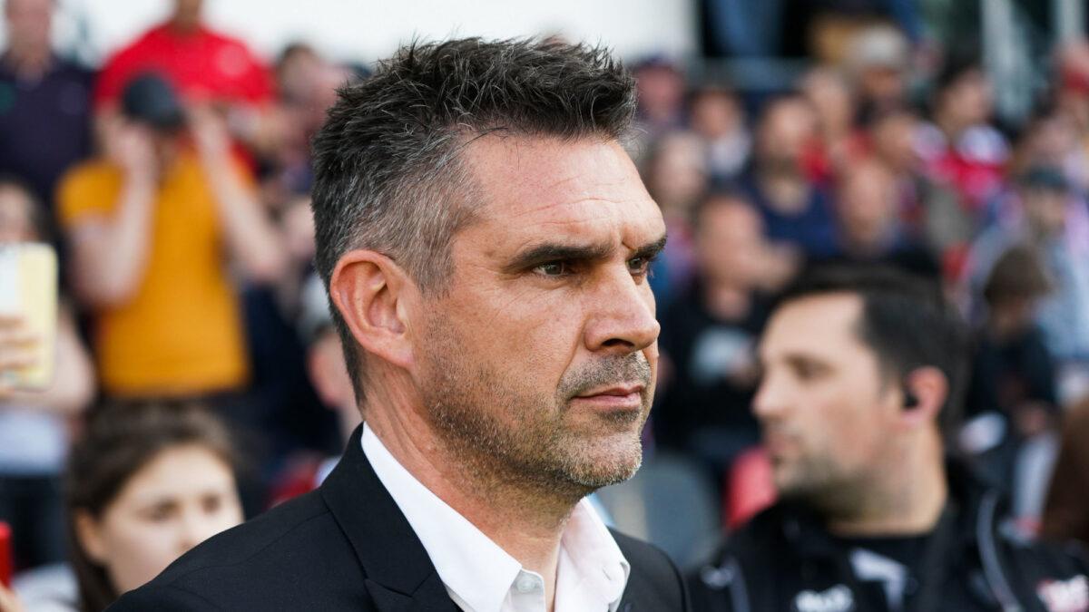 Jocelyn Gourvennec, le nouvel entraîneur du LOSC, a décrit les challenges qu'il allait devoir relever à la tête du club nordiste. Icon Sport