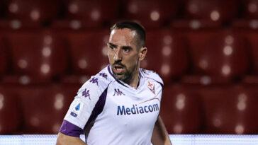 Franck Ribéry a égratigné la Fiorentina, son désormais ex-club, après que l'emblématique ailier français n'a pas été prolongé par le club toscan. Icon Sport