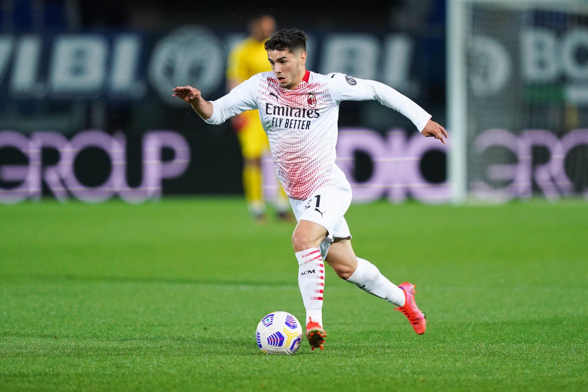 Brahim Diaz repart en prêt à l'AC Milan pour les deux prochaines saisons, en provenance du Real Madrid. Icon Sport