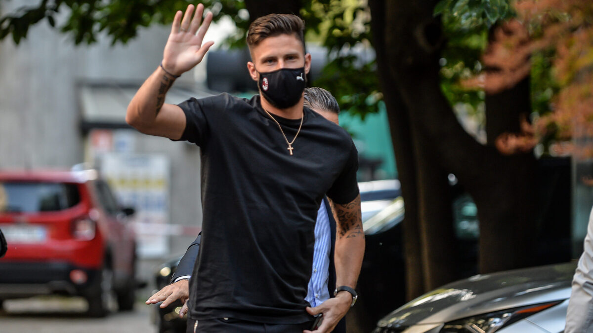 Olivier Giroud : Biographie, salaire, vie privée...Tout savoir sur l'attaquant de FC Milan ! (Icon Sport)
