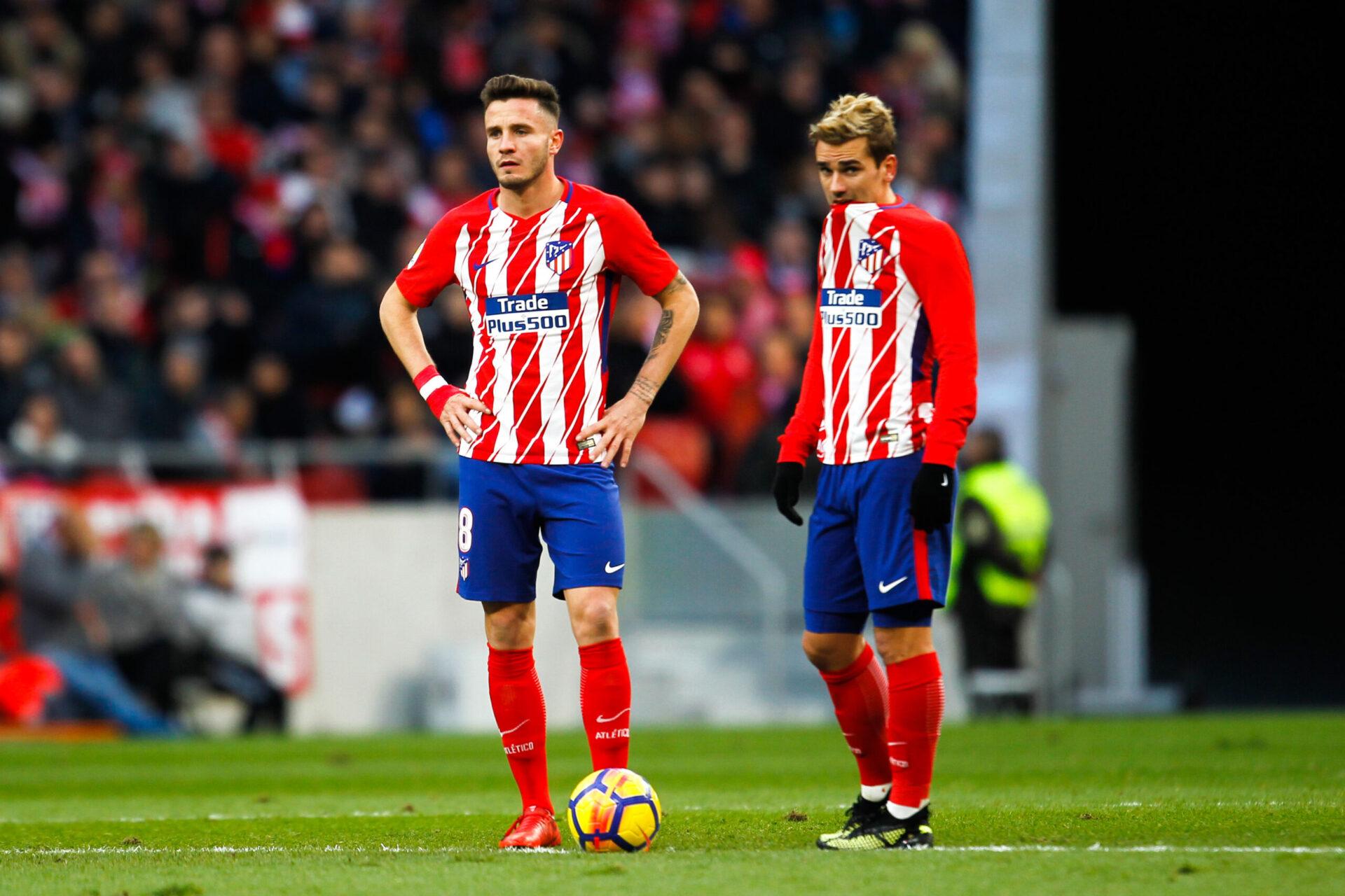 Anciens coéquipiers à l'Atlético de Madrid, Saúl et Griezmann pourraient faire l'objet d'un échange cet été (iconsport)