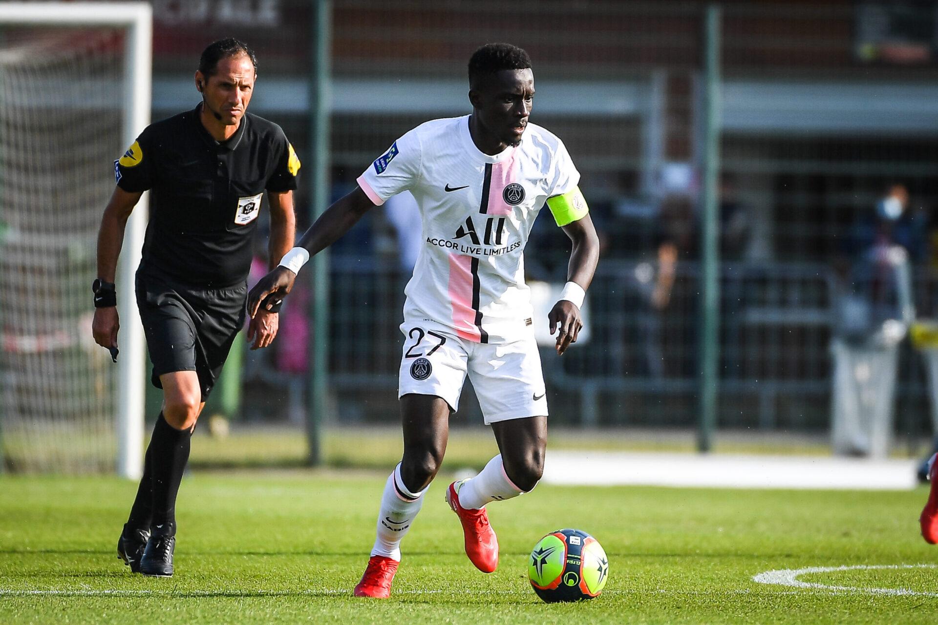 Idrissa Gana Gueye était le capitaine du Paris Saint-Germain lors des matches de préparation. Icon Sport