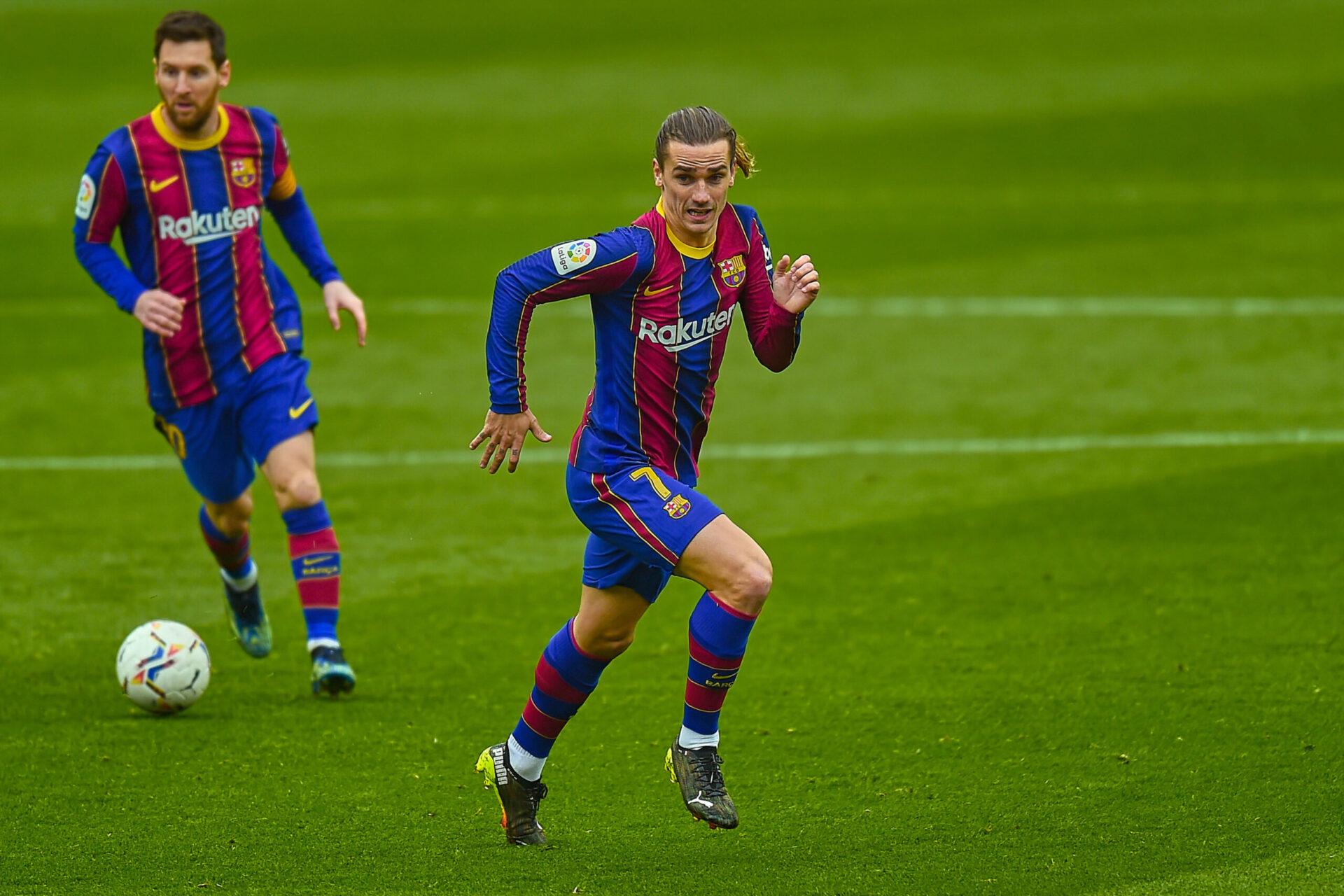 Griezmann pourrait être vendu au rabais pour laisser de la place à Messi (iconsport)