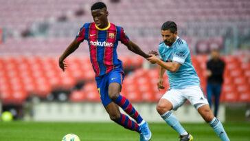 Ilaix Moriba - FC Barcelone (Iconsport)