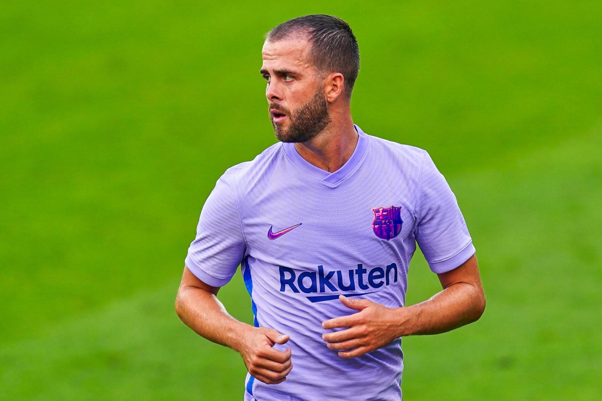 Miralem Pjanic n'est pas en odeur de sainteté à Barcelone et pourrait revenir à la Juventus. Icon Sport