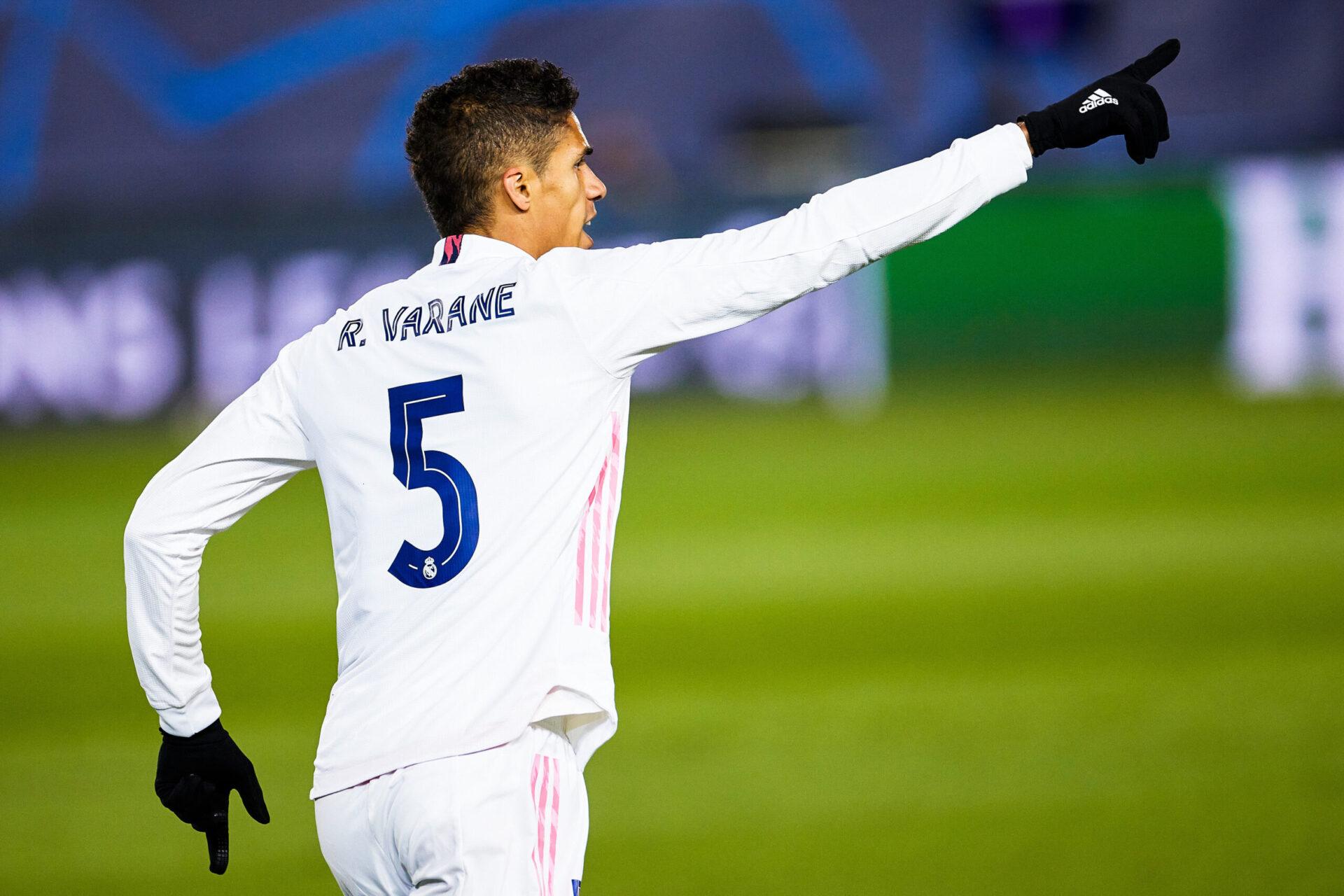 Raphael Varane sous les couleurs du Real Madrid (iconsport)