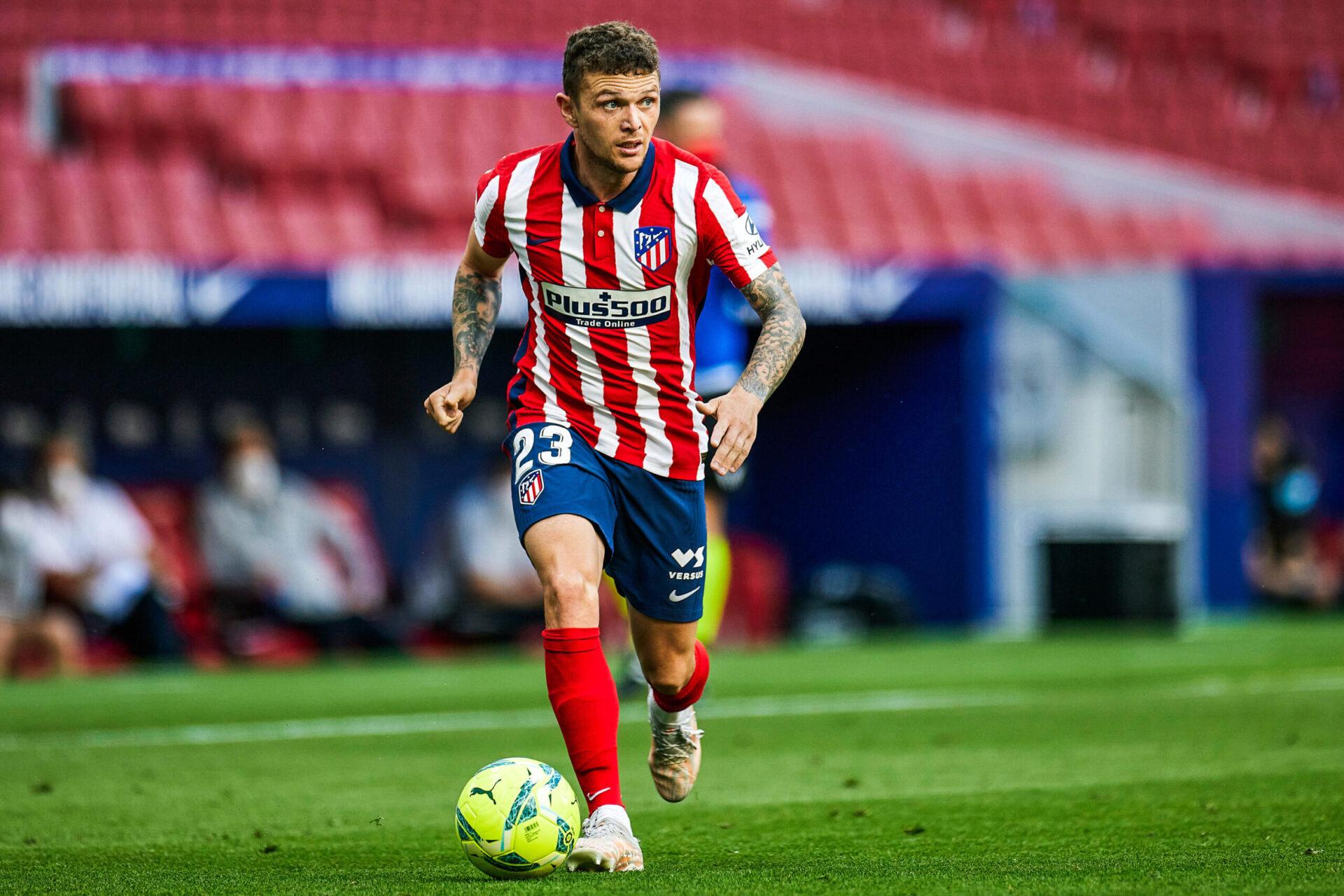 Romano affirmait encore récemment que l'Atlético demandait 40M€ pour Trippier (iconsport)