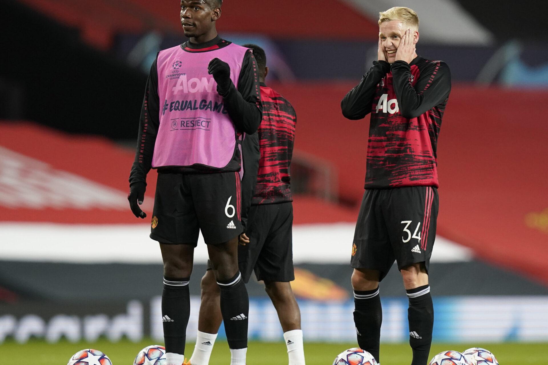 Van de Beek pourrait avoir plus de temps de jeu la saison prochaine si Pogba partait (iconsport)