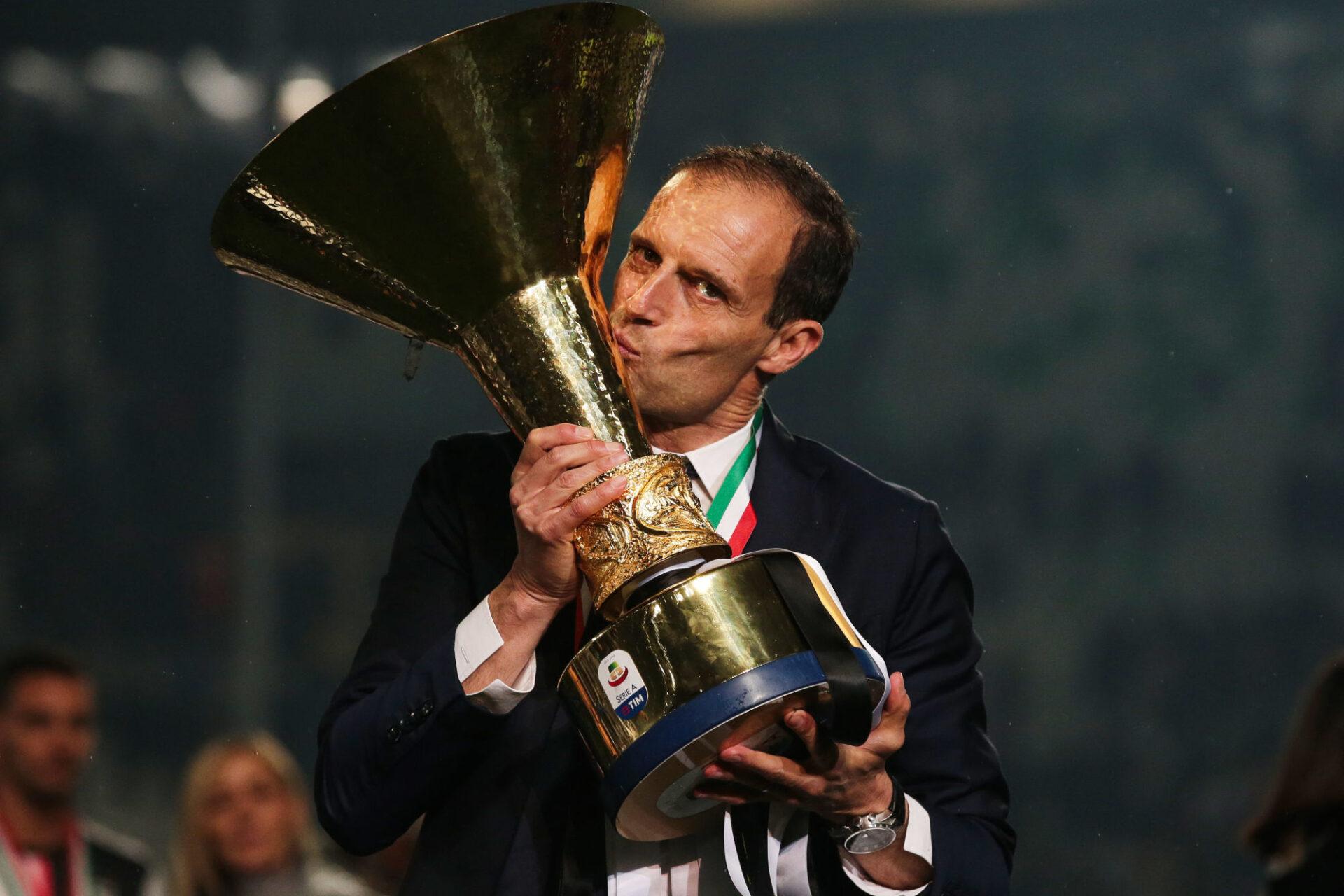 Massimiliano Allegri avait quitté la Juventus en 2019 sur un cinquième titre de champion consécutif en Serie A. Icon Sport