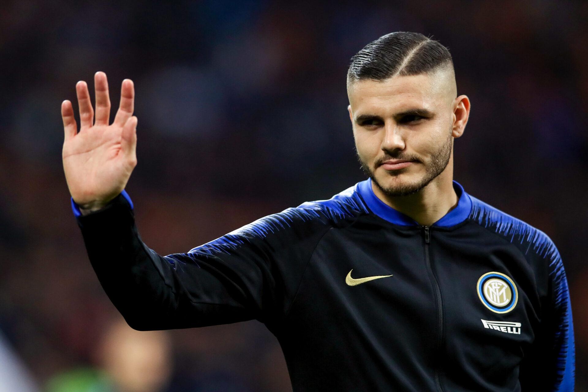 Icardi portant les couleurs de l'Inter Milan (Icon Sport)