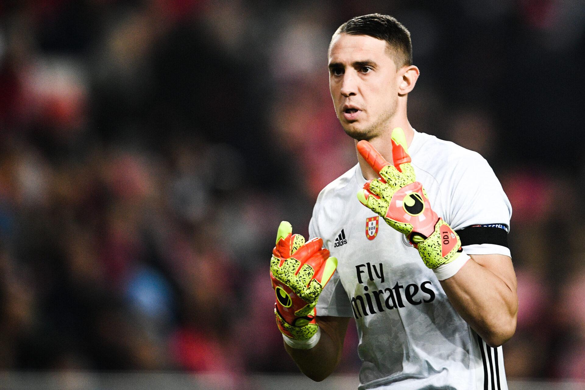 Âgé de 27 ans, Vlachodimos évolue au Benfica depuis 2018 où il occupe une place de titulaire sous les ordres de Jorge Jesus (iconsport)