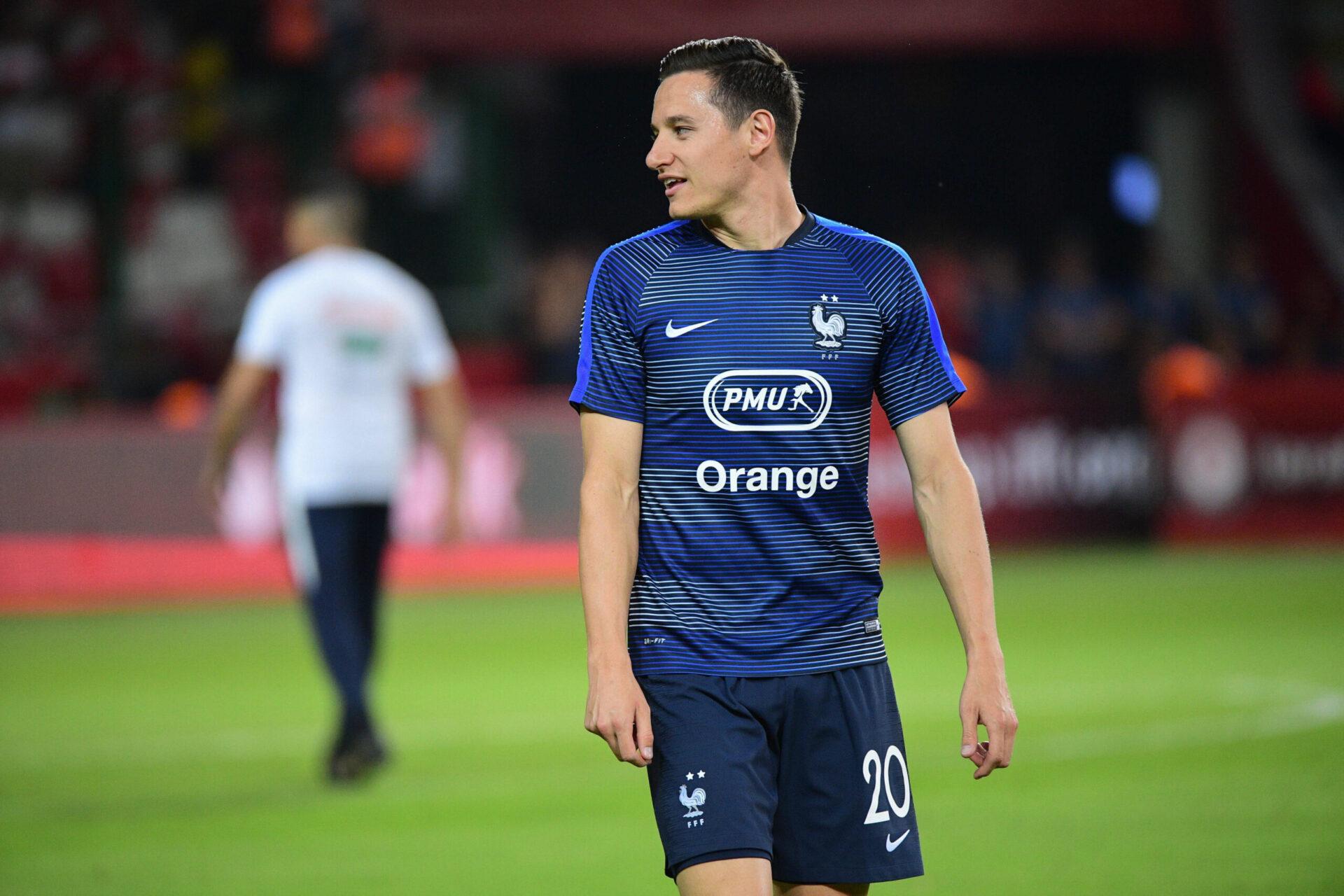 Florian Thauvin sous le maillot Bleu (iconsport)