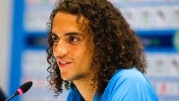 Mattéo Guendouzi a été présenté à la presse ce mercredi 7 juillet. Le nouveau Marseillais a exprimé sa joie de rejoindre le club et sa confiance dans son projet (iconsport)
