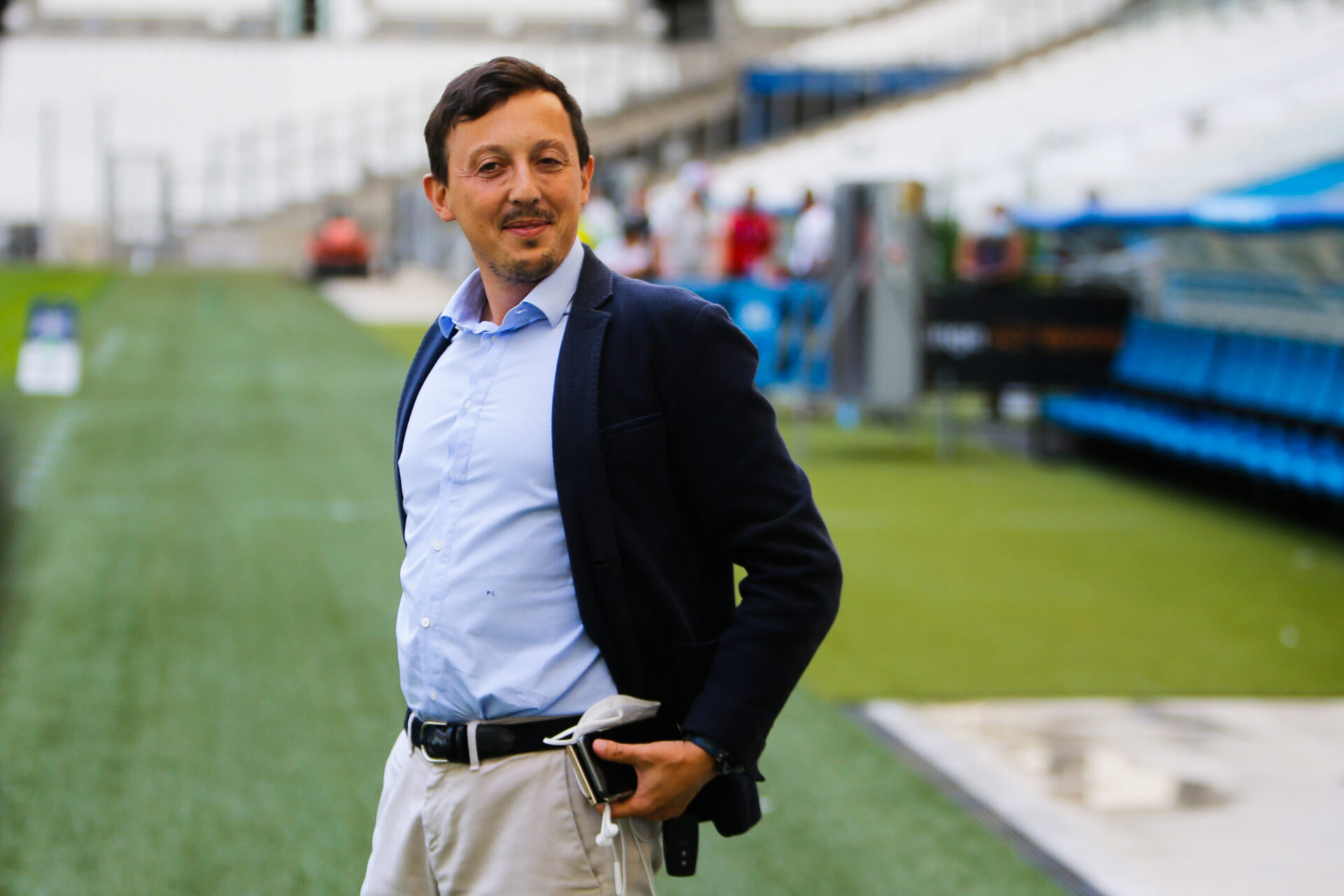 Pablo Longoria est sur tous les fronts depuis son arrivée à l'OM (iconsport)