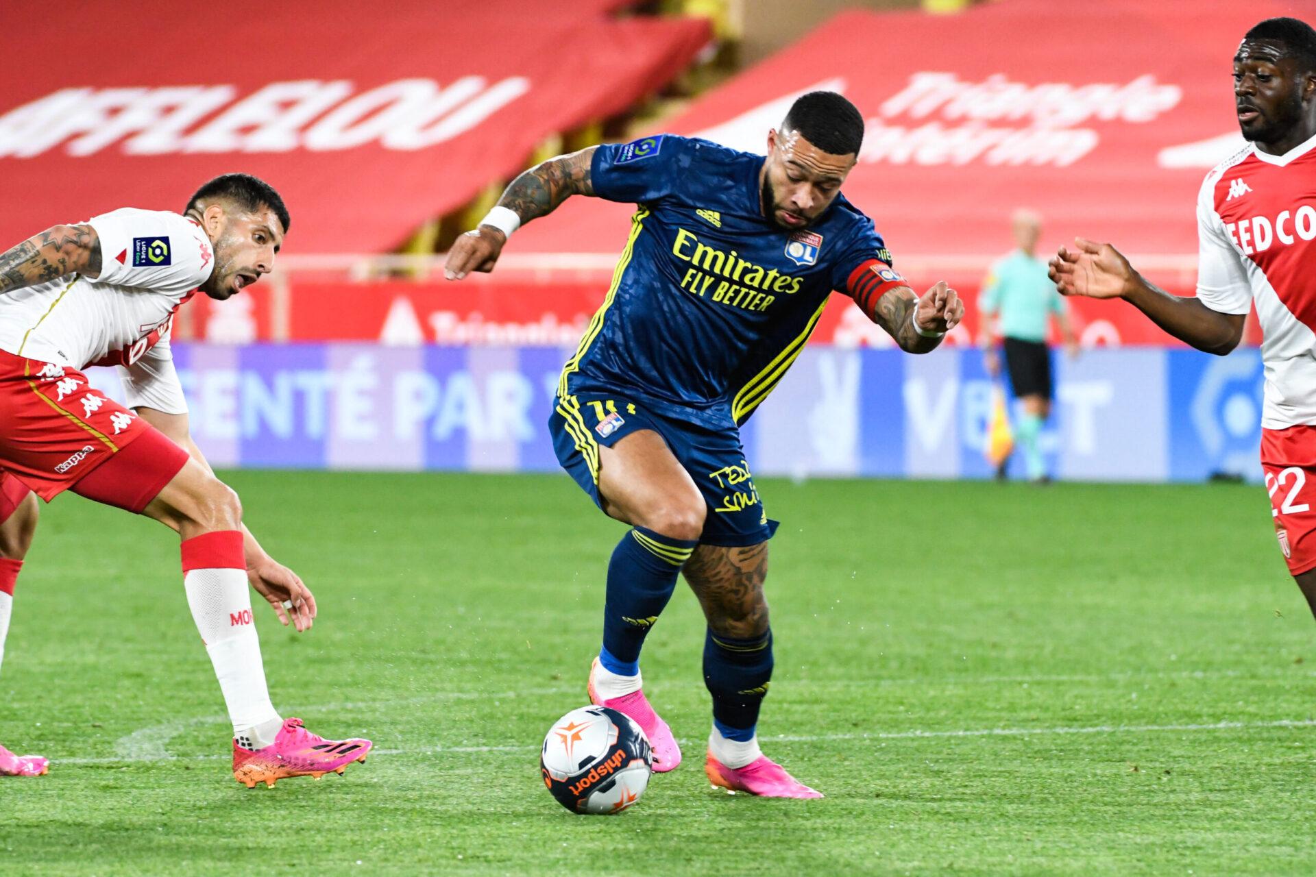 Memphis a profité de son passage à Lyon pour se relancer et aura marqué le club de plusieurs coups d'éclats (iconsport)