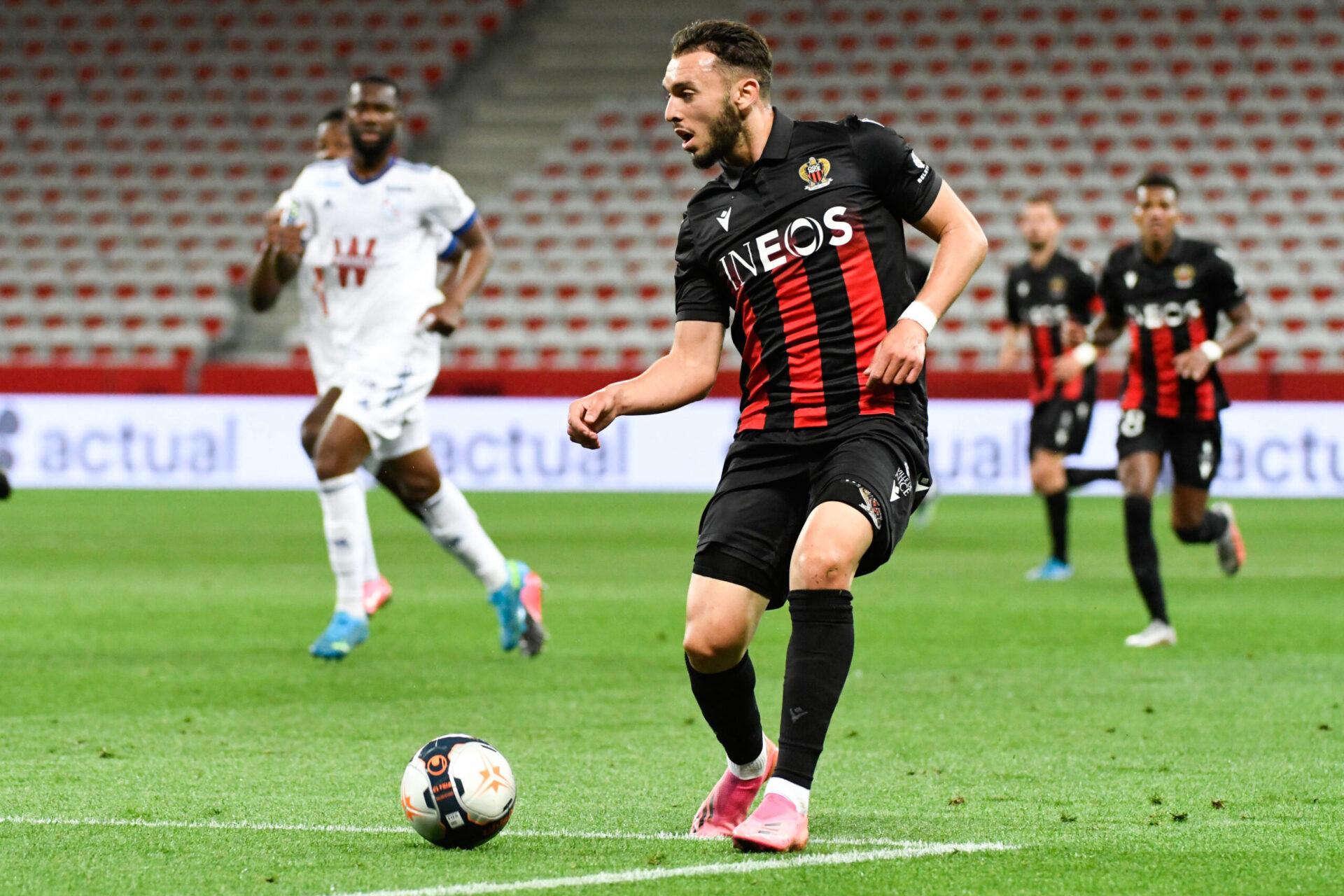 Amine Gouiri sort de sa première saison pleine au haut niveau, 39 matches toutes compétitions confondues (iconsport)