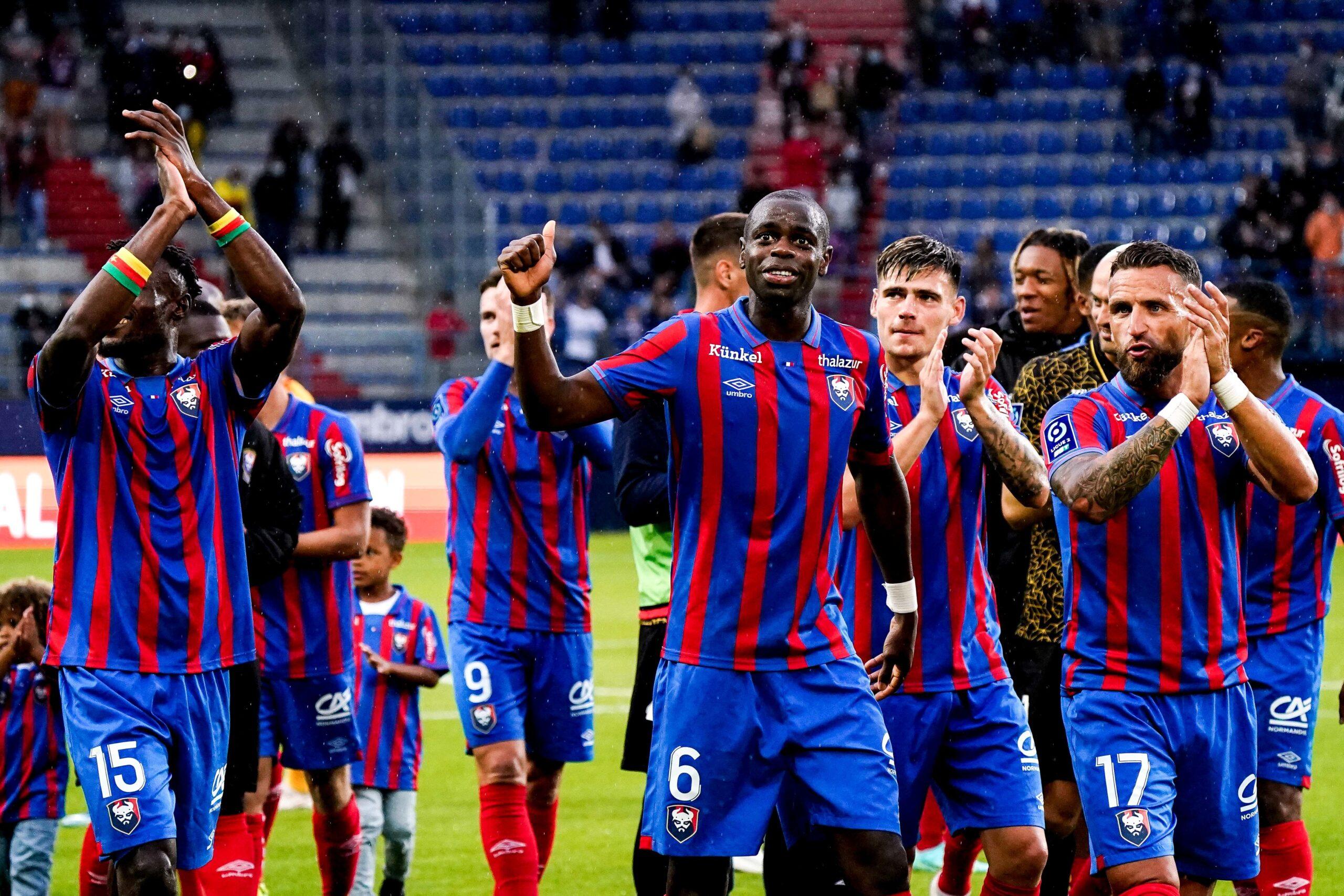 Ligue 2: Caen et le Paris FC cartonnent et prennent la tête