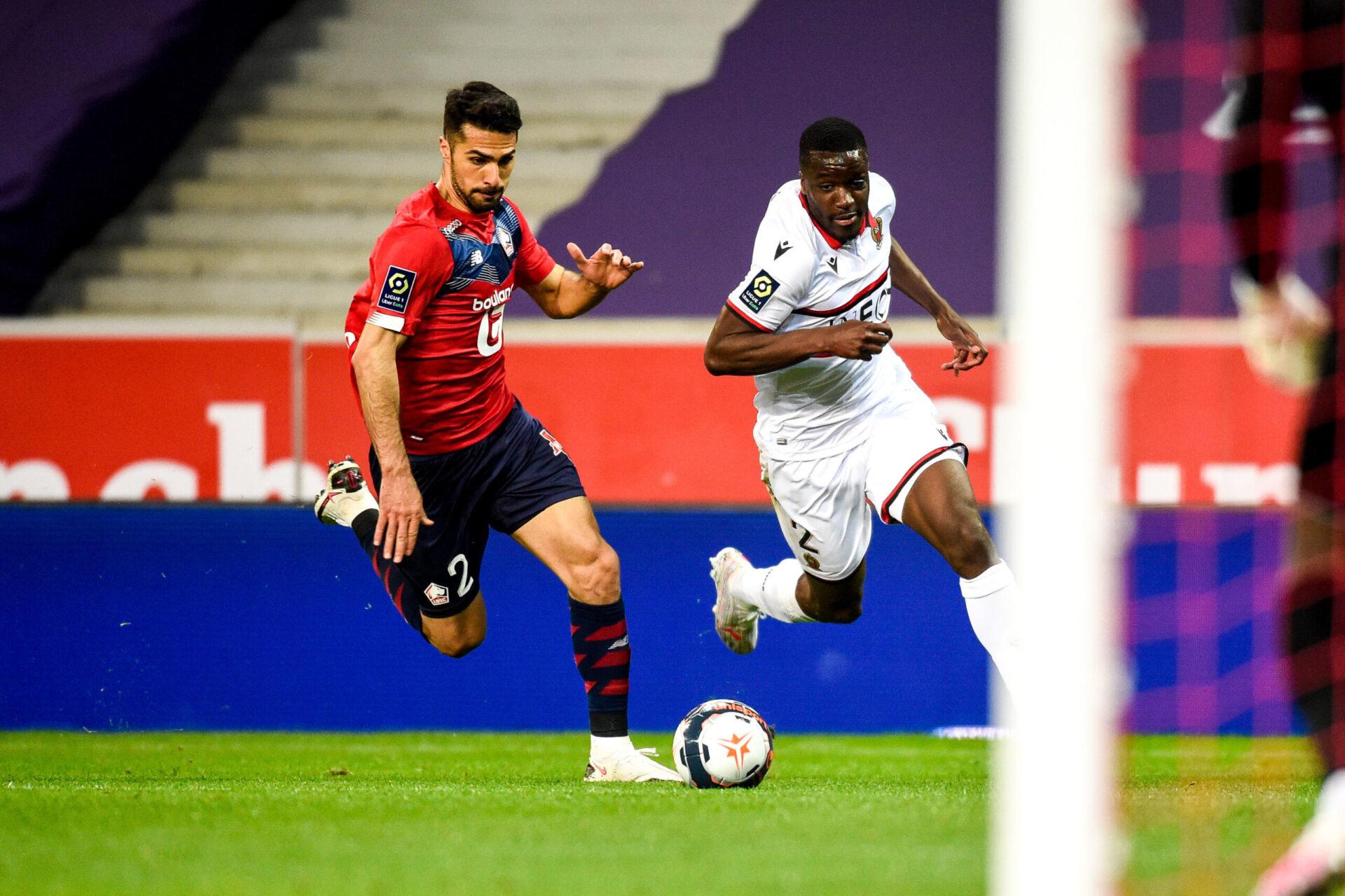 Stanley Nsoki aura joué 35 matches avec l'OGC Nice en Ligue 1. Icon Sport