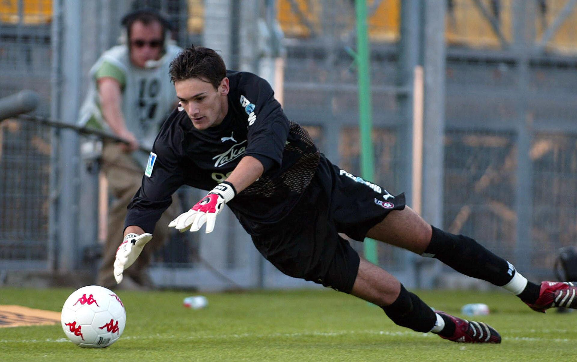Hugo Lloris, jeune gardien de but de l'OGC Nice (Icon Sport)