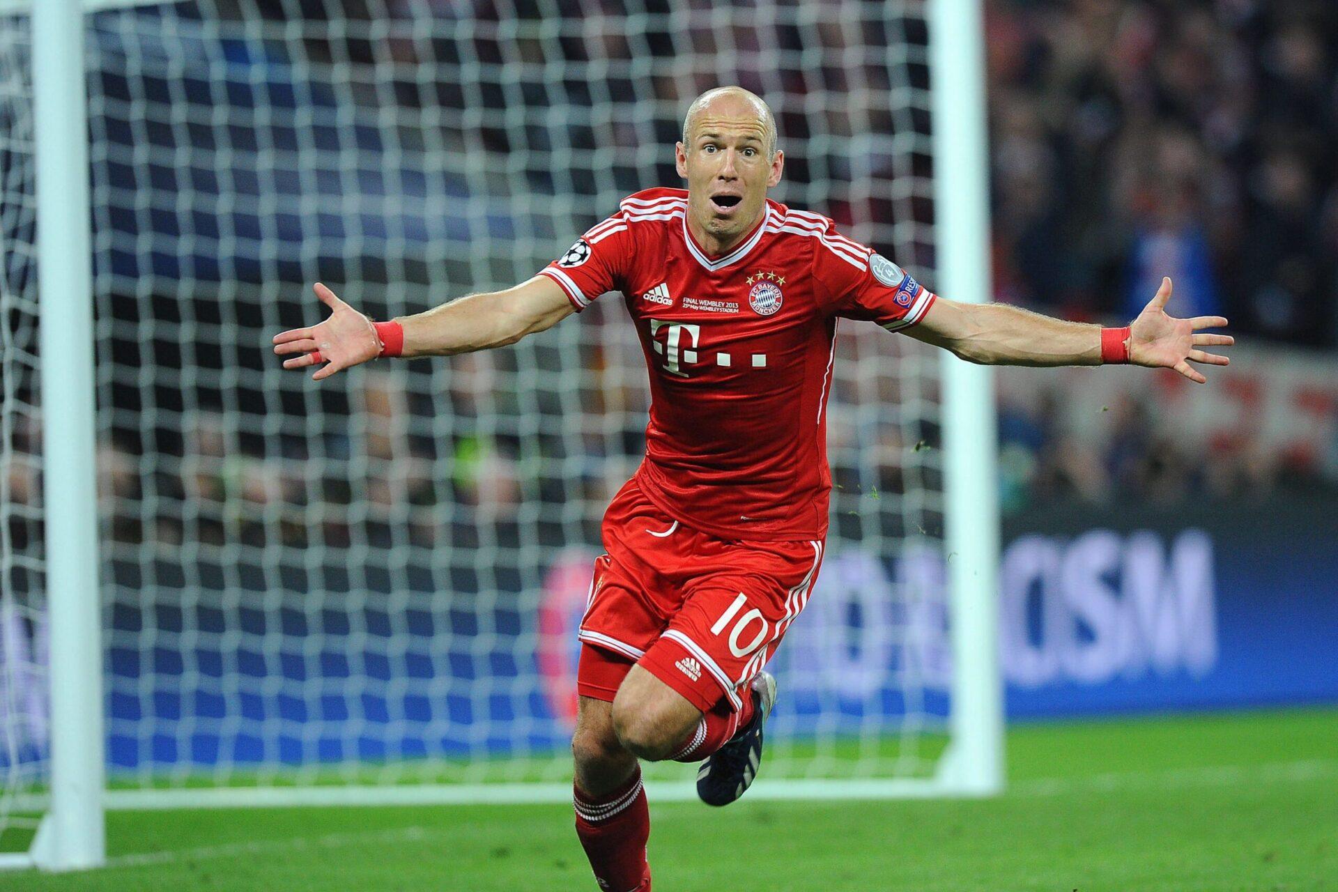 Vainqueur d'une Ligue des champions en 2013, Arjen Robben avait inscrit le but de la victoire en finale contre Dortmund à la 89e minute (iconsport)