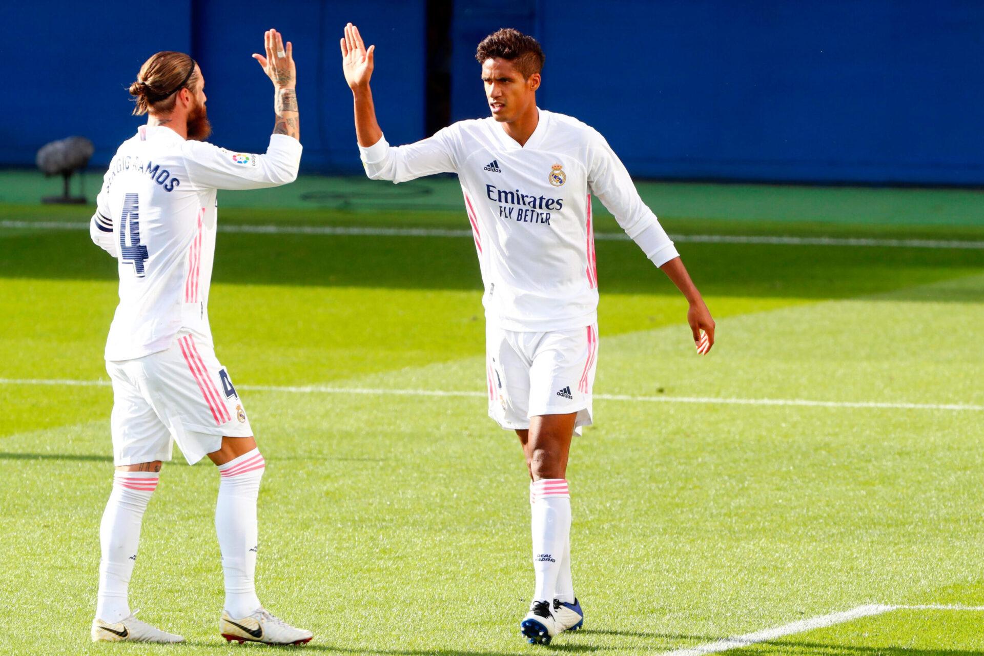 Le Real Madrid a perdu sa charnière centrale titulaire en l'espace de quelques semaines. Icon Sport