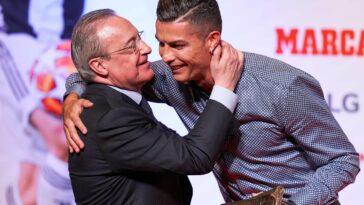 Florentino Perez n'était vraiment pas tendre avec Ronaldo (iconsport)
