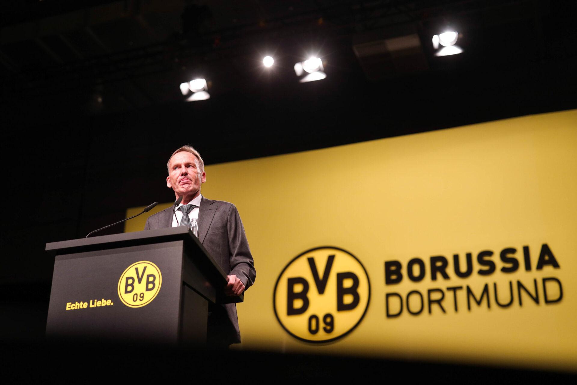 Le dirigeant du Borussia Dortmund a critiqué l'assouplissement du fair-play financier annoncé par l'UEFA (iconsport)