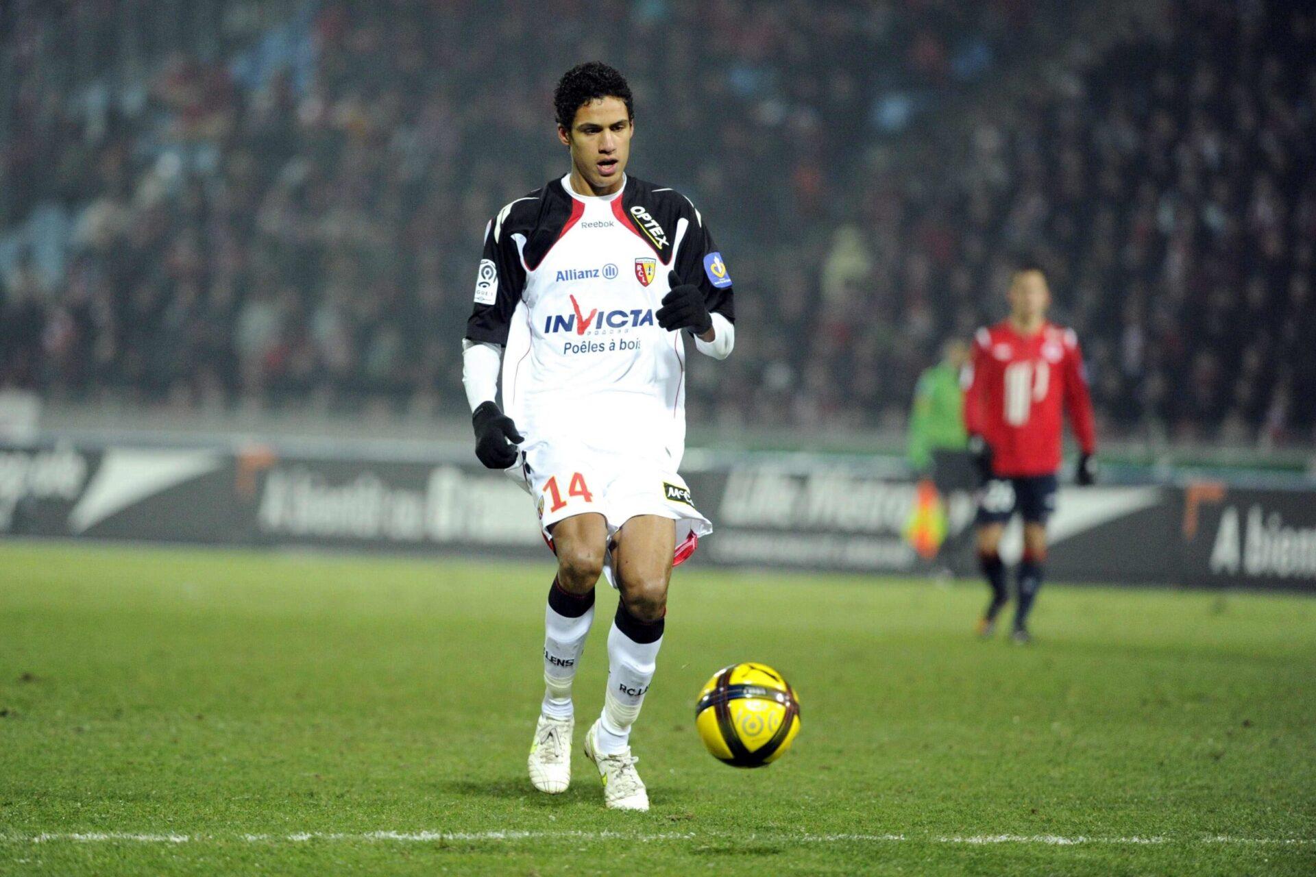 Raphaël Varane portant les couleurs du RC Lens (Icon Sport)