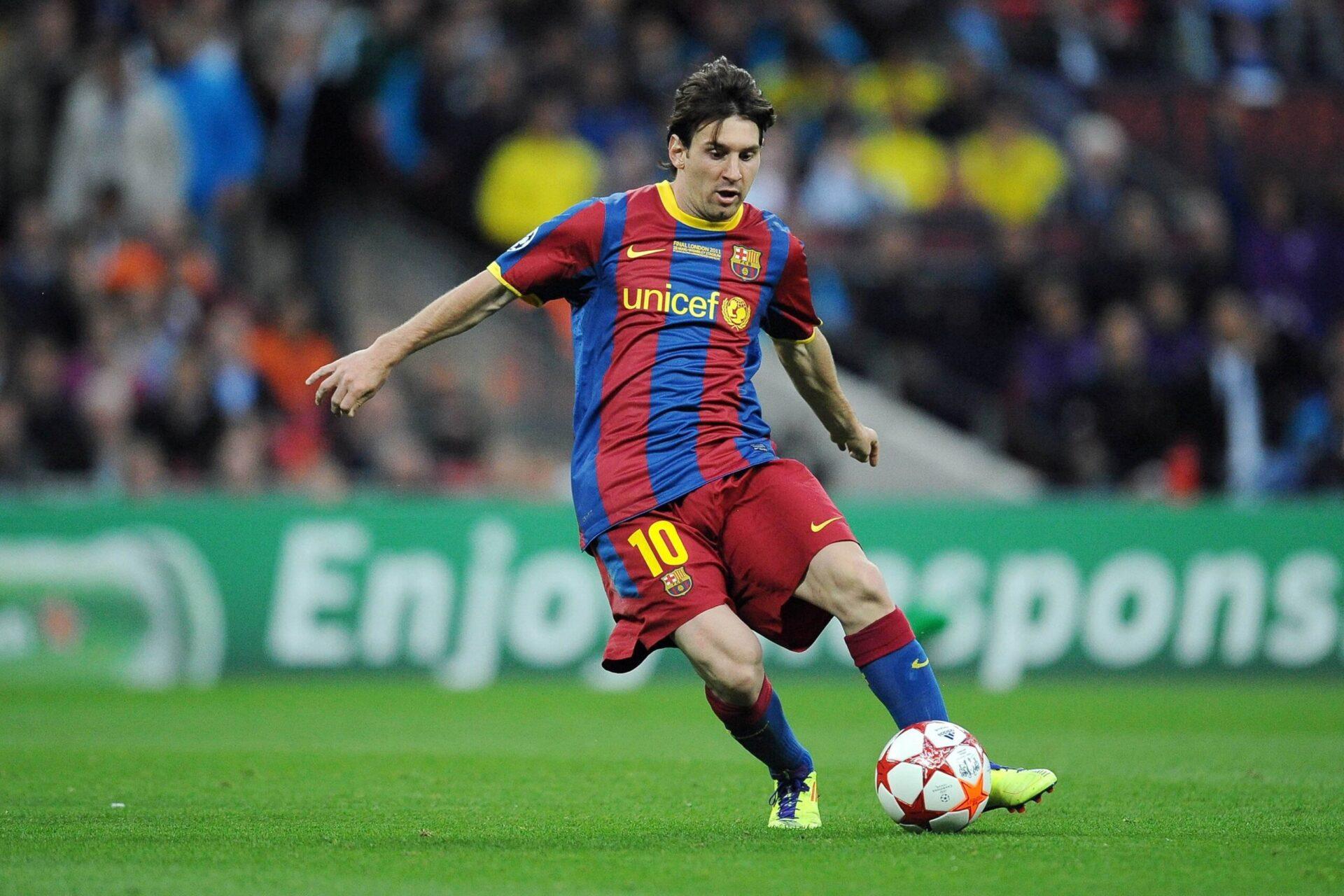 Lionel Messi sous le maillot du Barça en 2011 (iconsport)