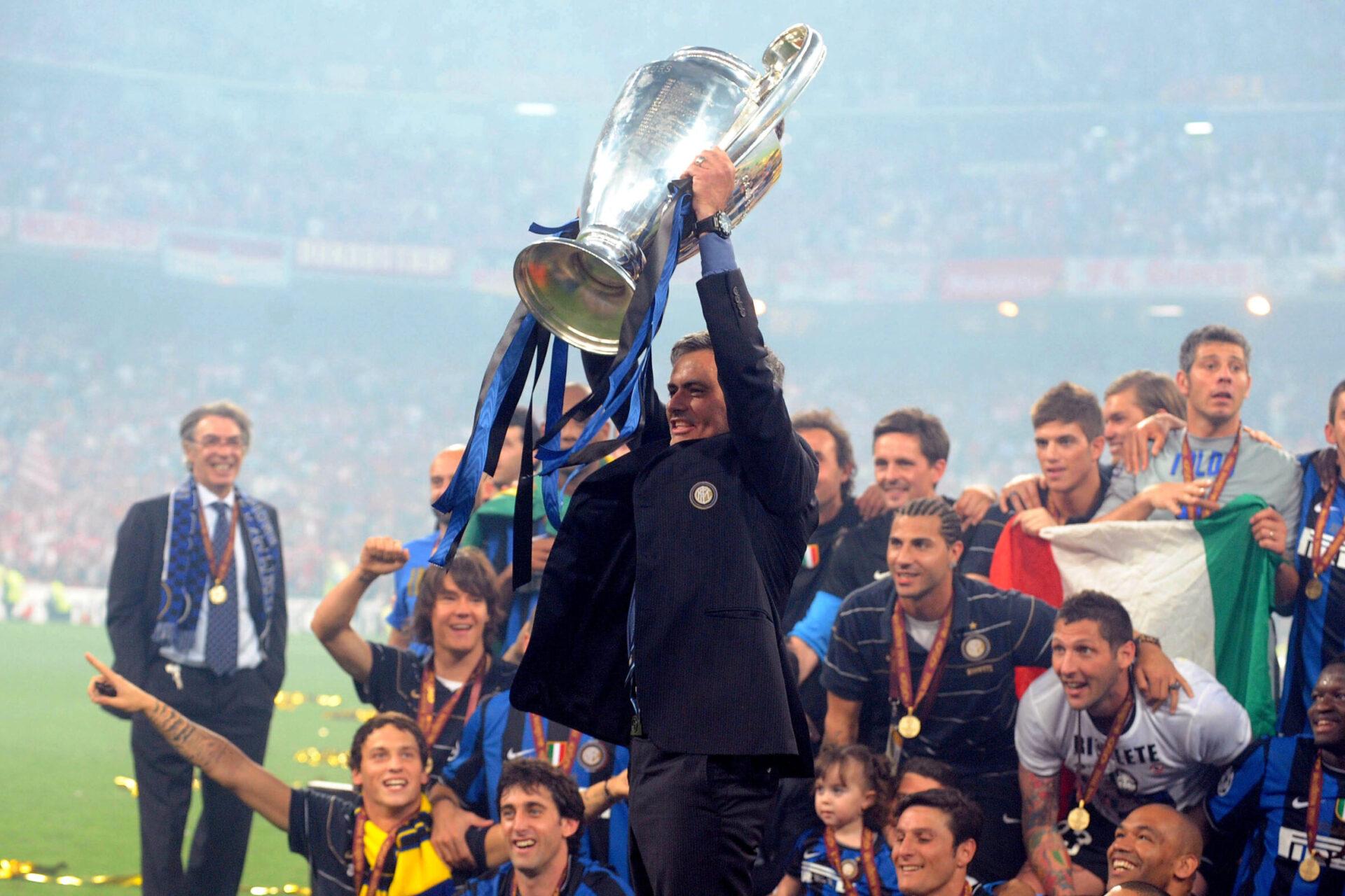 José Mourinho est déjà passé par l'Italie, il remporté la Ligue des champions 2010 avec l'Inter Milan (iconsport)