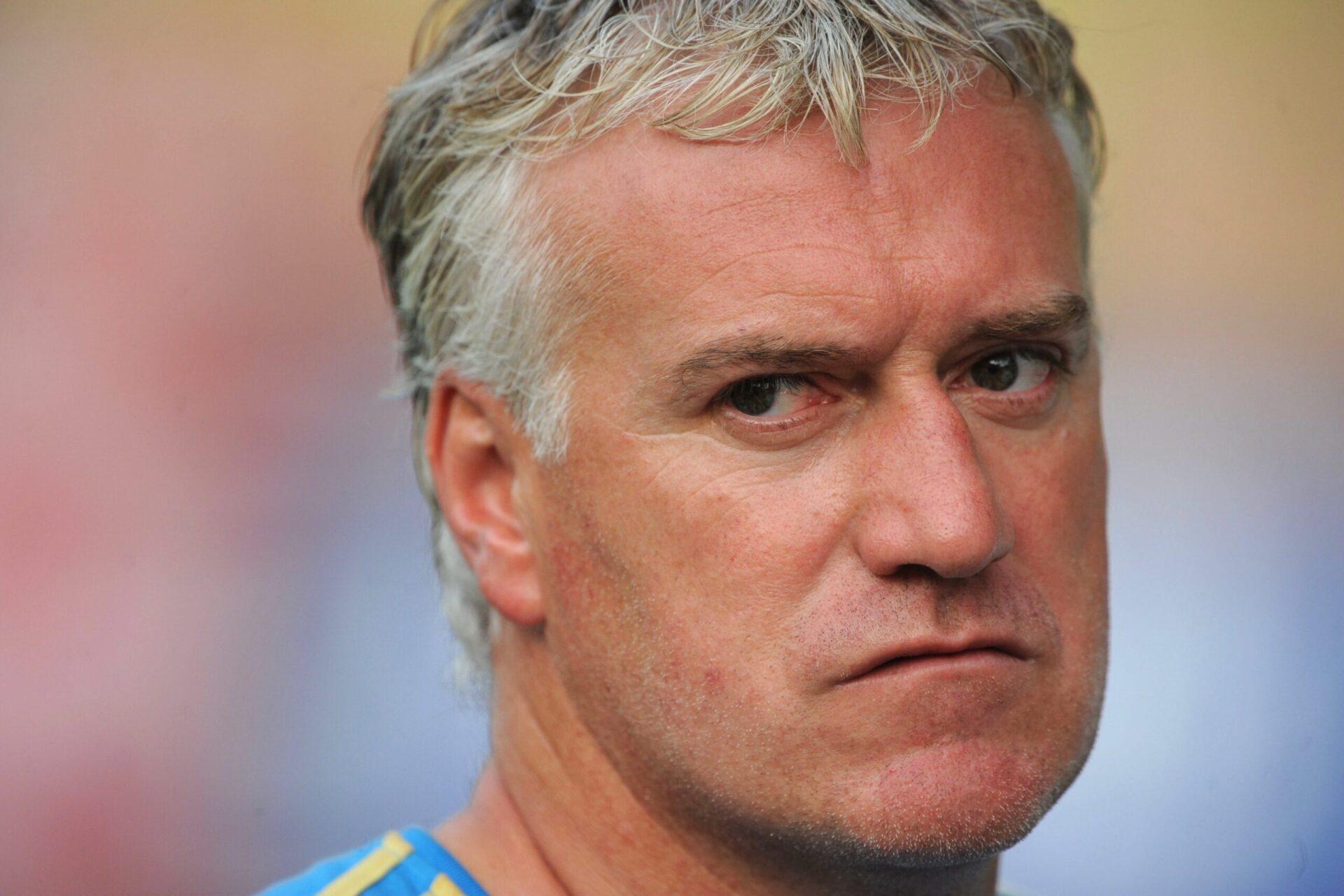Didier Deschamps coachant l'Olympique de Marseille (Icon Sport)