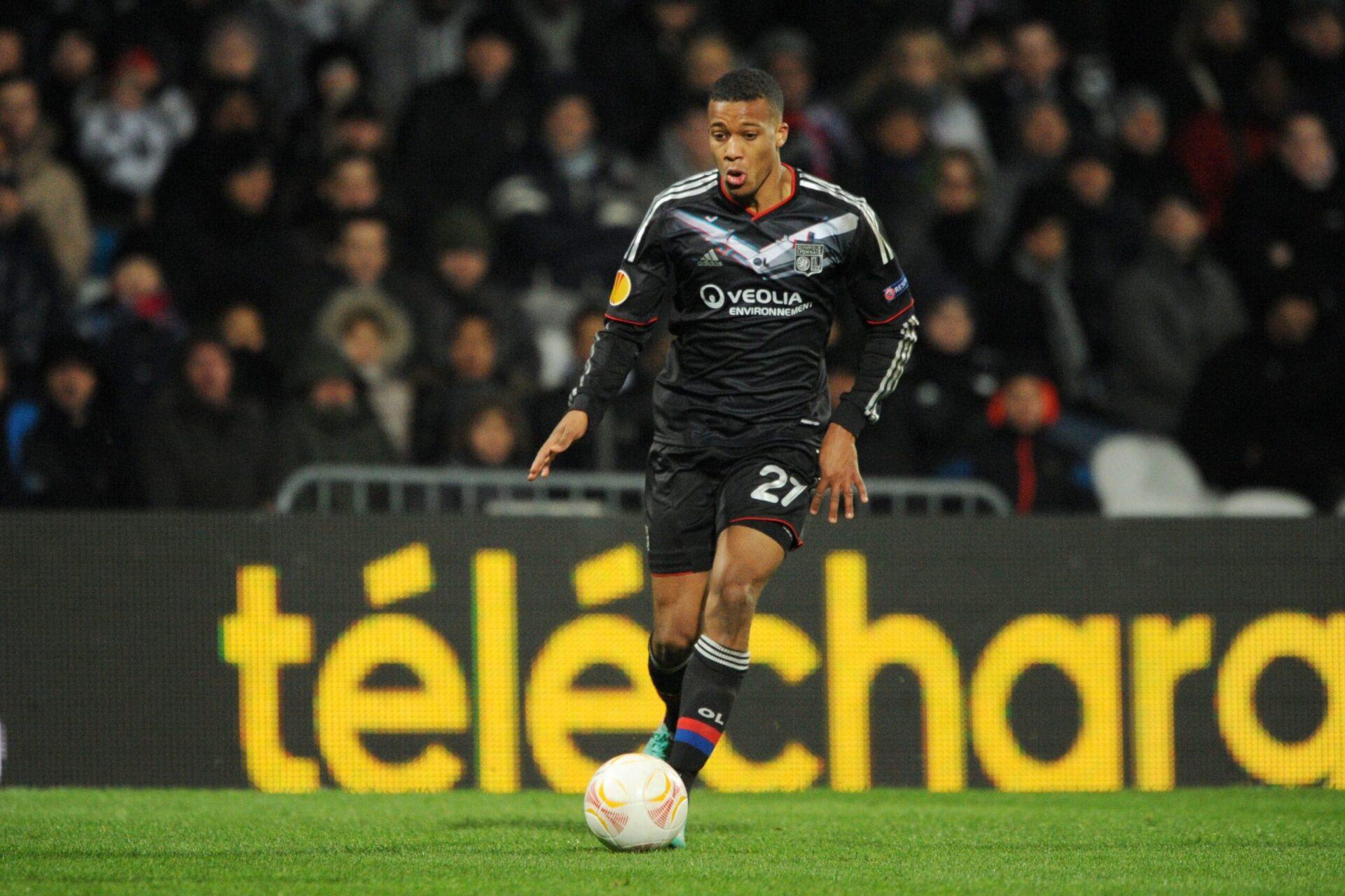 Alassane Plea retrouvera-t-il son club formateur avec qui il a lancé sa carrière professionnelle ? Avec l'OL, il compte 12 apparitions et un but (iconsport)