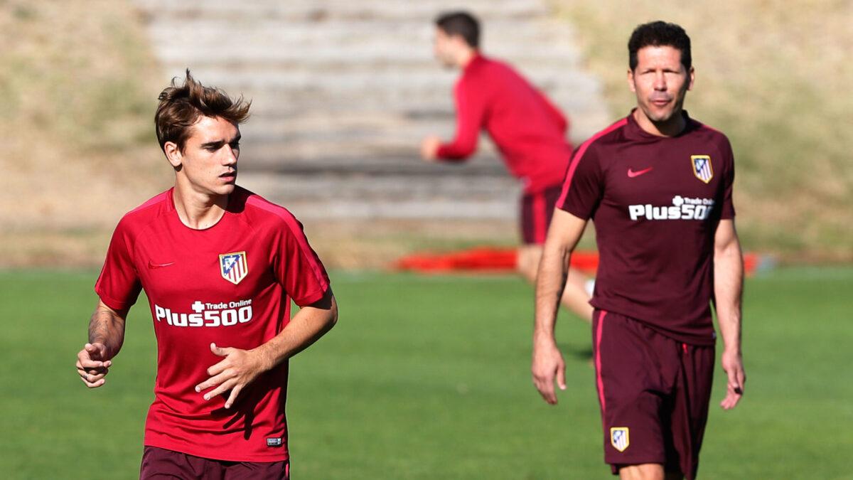Diego Simeone calme (un peu) la rumeur Griezmann (iconsport)