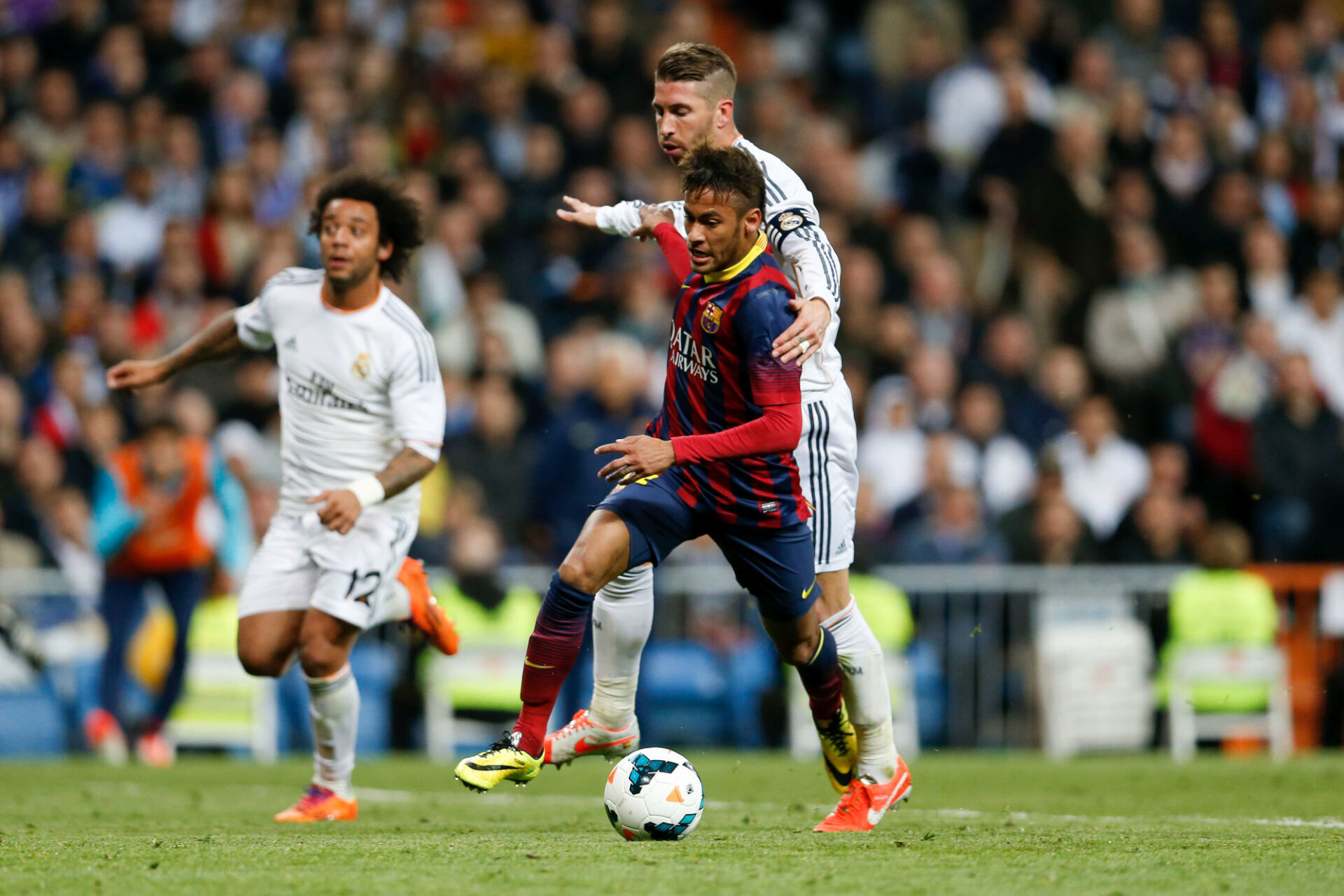 Sergio Ramos et Neymar, des adversaires devenus amis