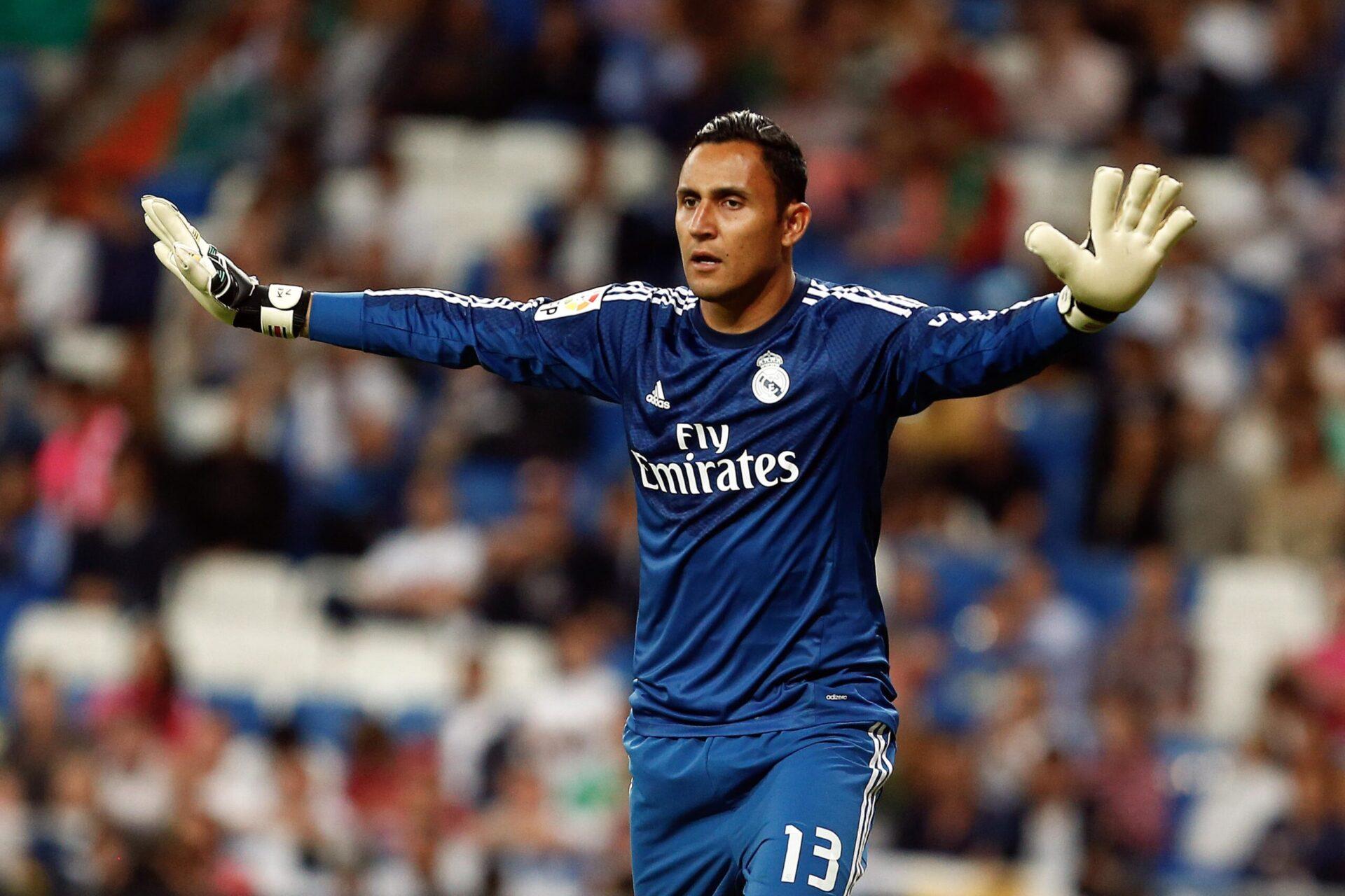 Keylor Navas portant les couleurs de Real Madrid (Icon Sport)