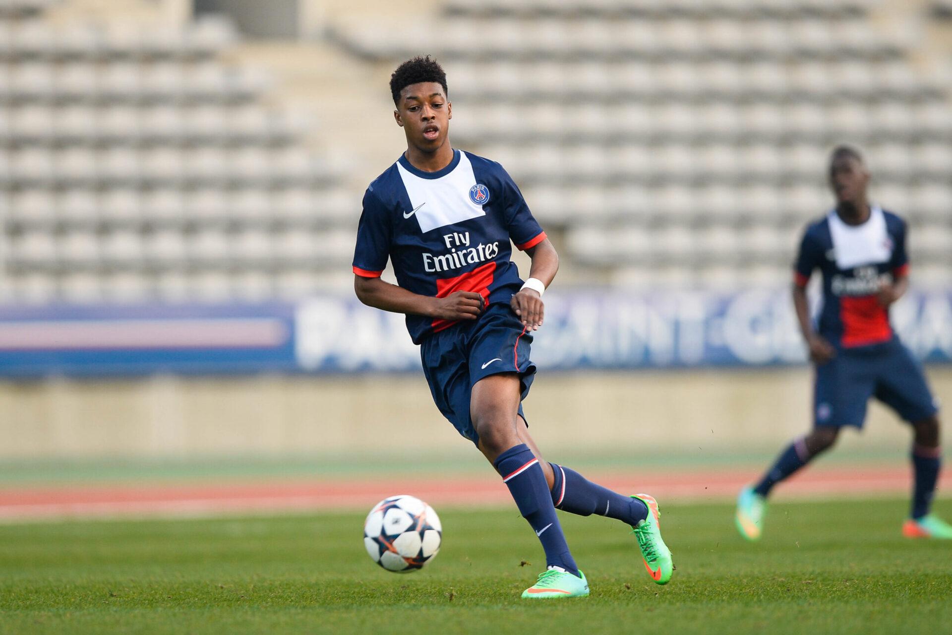 Presnel Kimbempe débutant au Paris Saint-Germain (Icon Sport)