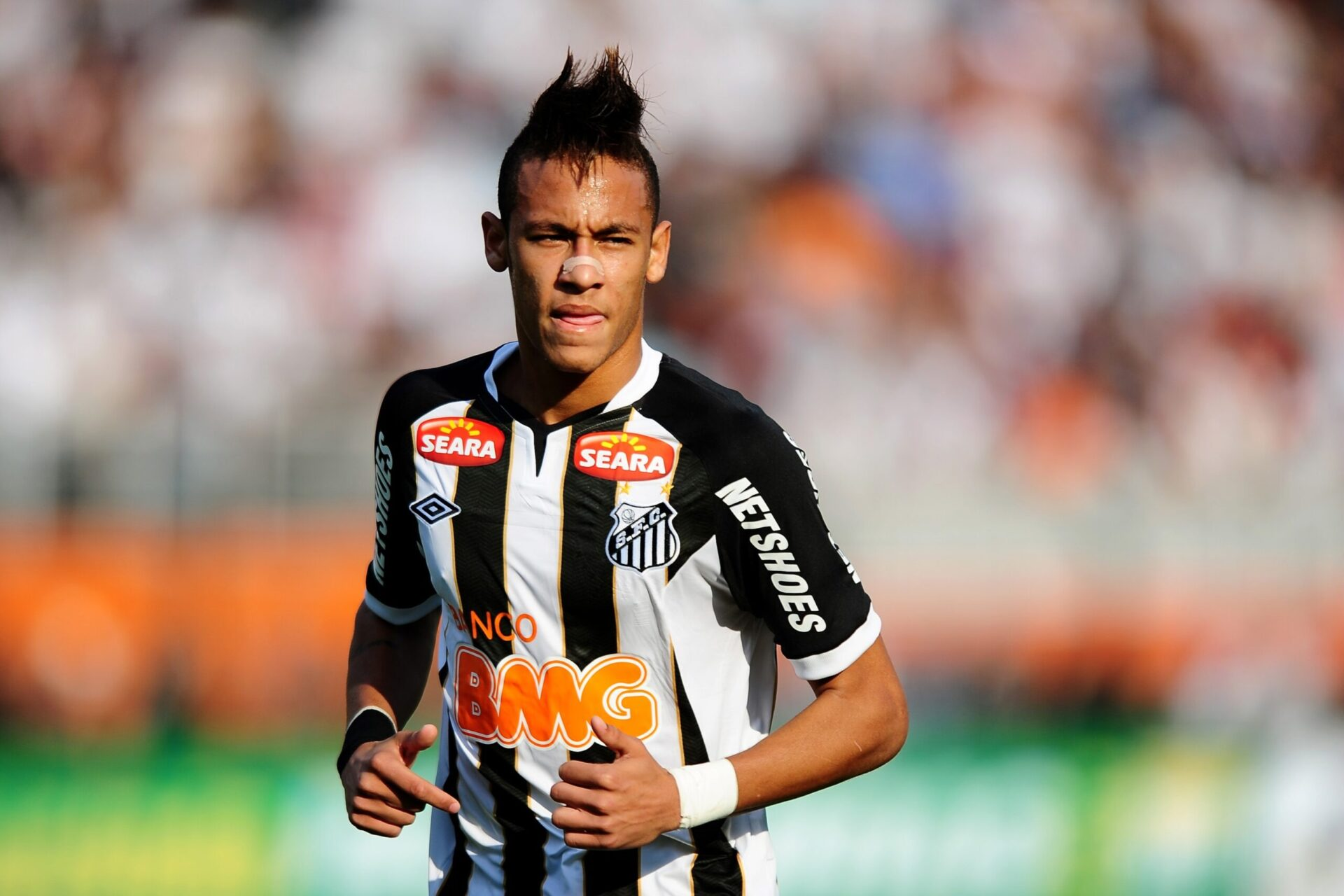 Neymar sous les couleurs de Santos (iconsport)