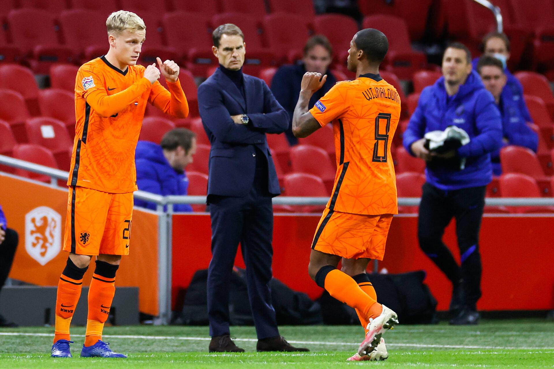 Barcelone voudrait attirer Van de Beek après avoir échoué à recruter Wijnaldum (iconsport)
