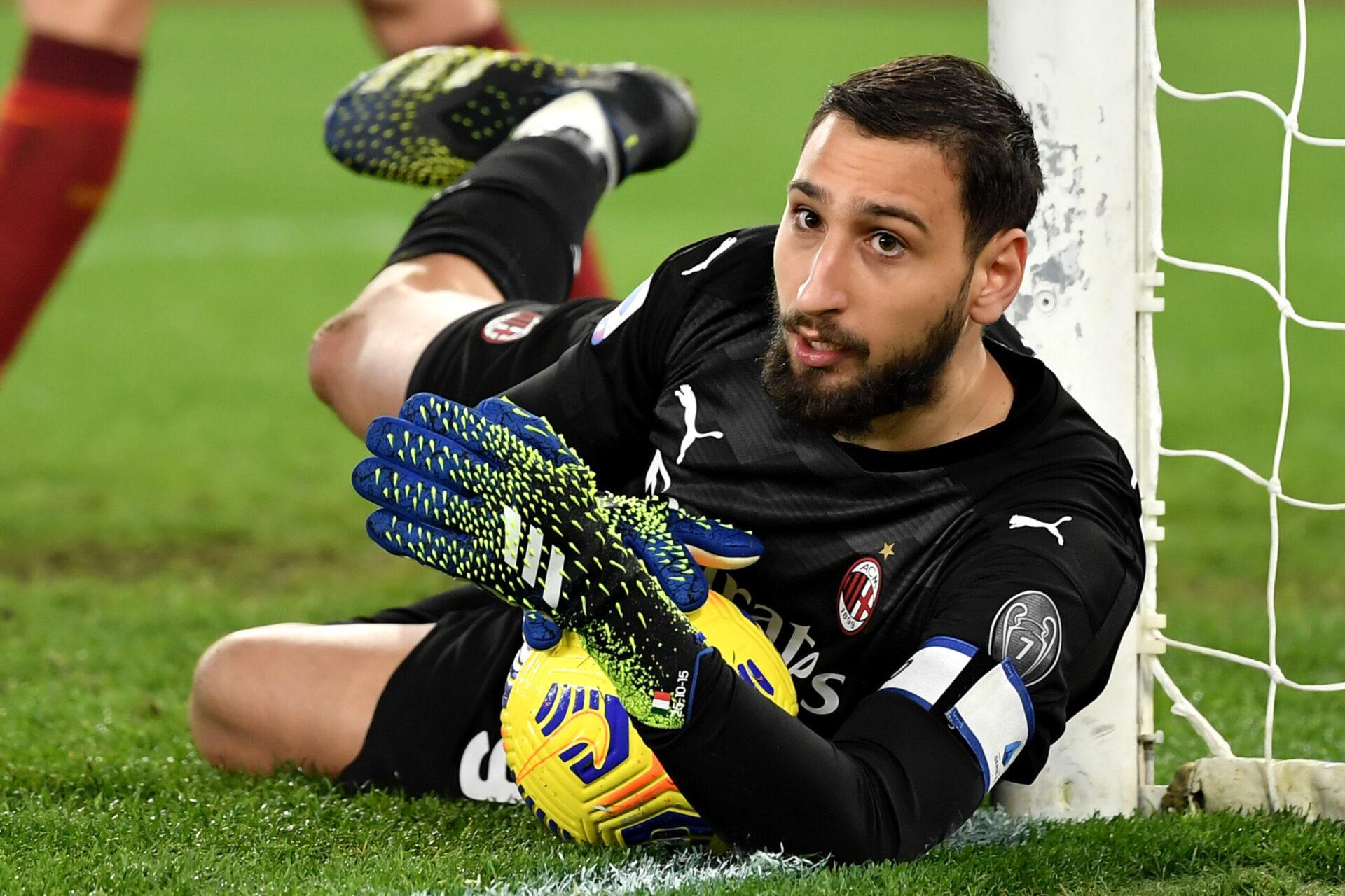 Donnarumma jouant pour le club de Milan (Icon Sport)