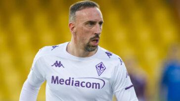 Après deux saisons à la Fiorentina, Franck Ribéry n'a pas été conservé par ses dirigeants. Le Français quitte le club en fin de contrat (iconsport)