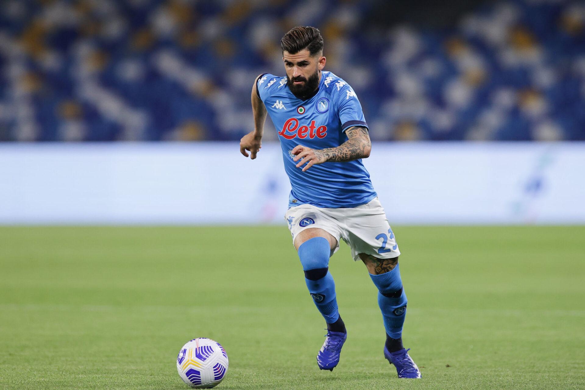 Elseid Hysaj est passé de Naples à la Lazio, mais son intégration ne s'est pas déroulée comme prévu... Icon Sport